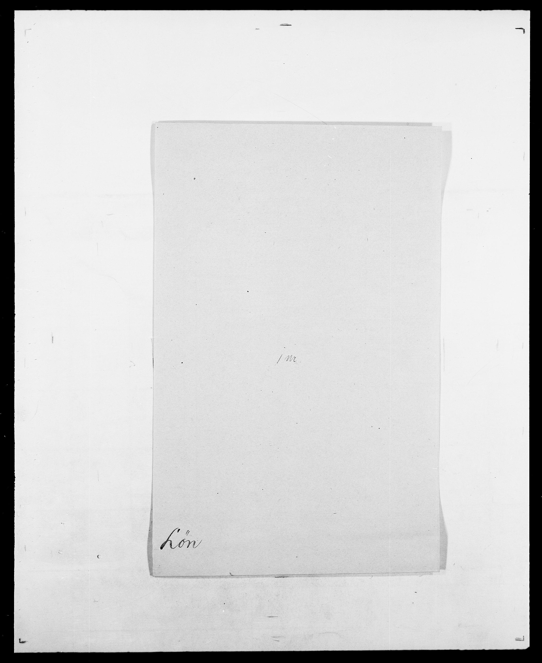 SAO, Delgobe, Charles Antoine - samling, D/Da/L0025: Løberg - Mazar, s. 48