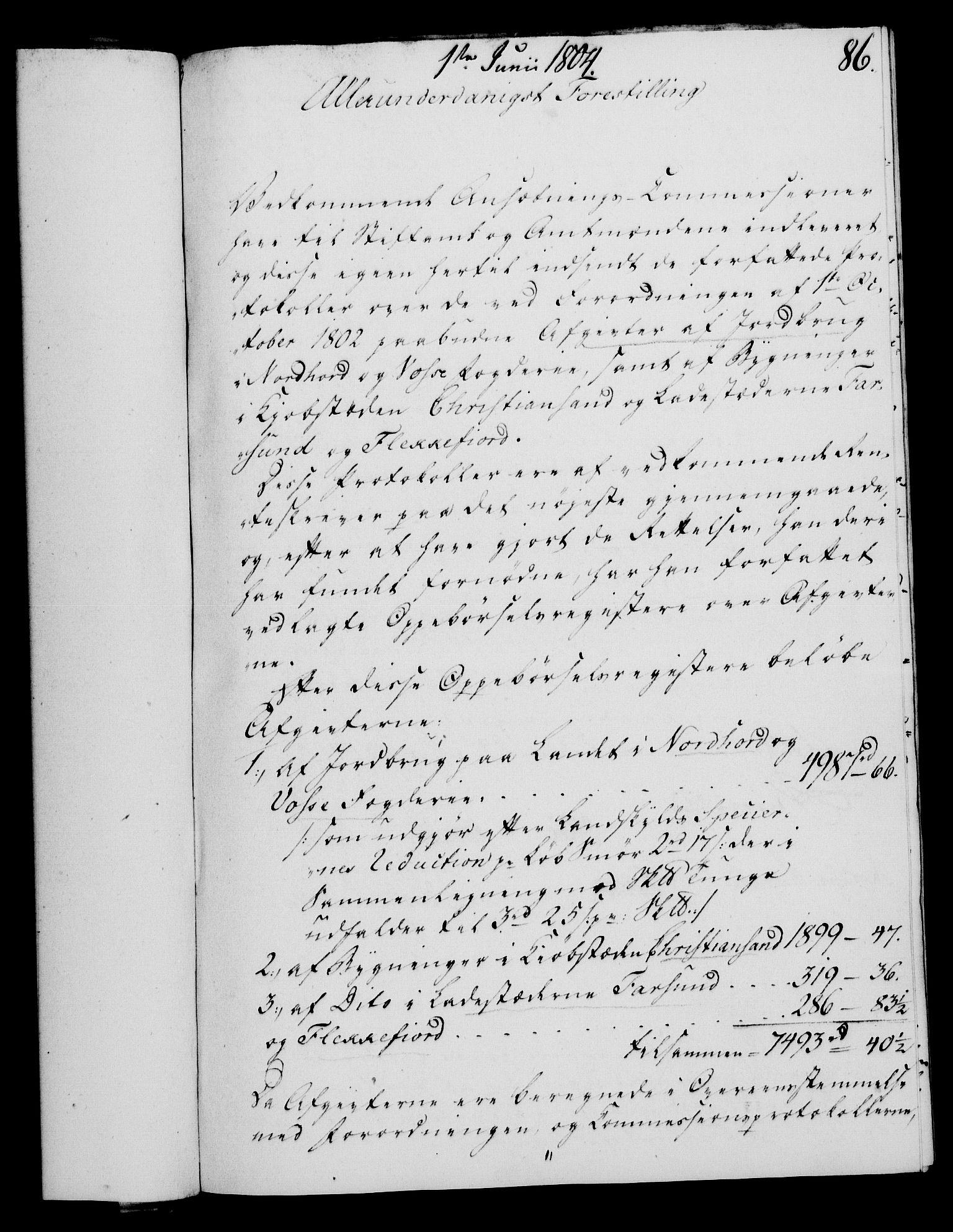RA, Rentekammeret, Kammerkanselliet, G/Gf/Gfa/L0086: Norsk relasjons- og resolusjonsprotokoll (merket RK 52.86), 1804, s. 536