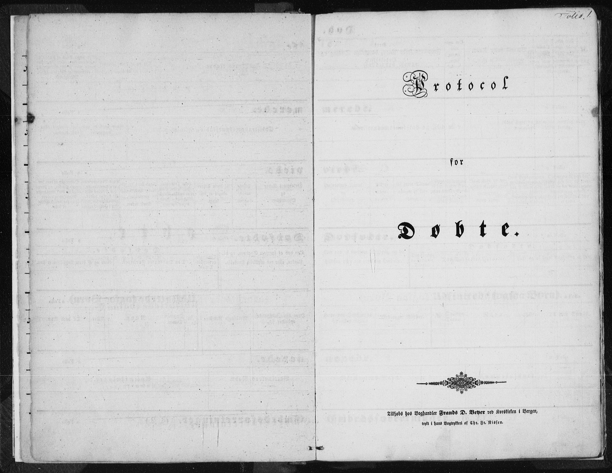 SAST, Tysvær sokneprestkontor, H/Ha/Haa/L0002: Ministerialbok nr. A 2, 1847-1856, s. 1