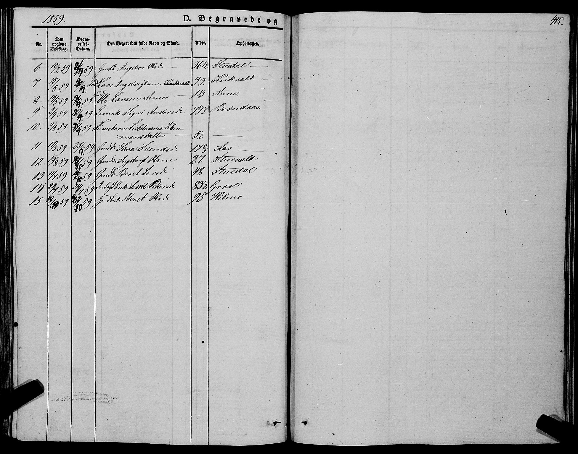 SAT, Ministerialprotokoller, klokkerbøker og fødselsregistre - Sør-Trøndelag, 695/L1146: Ministerialbok nr. 695A06 /2, 1843-1859, s. 415