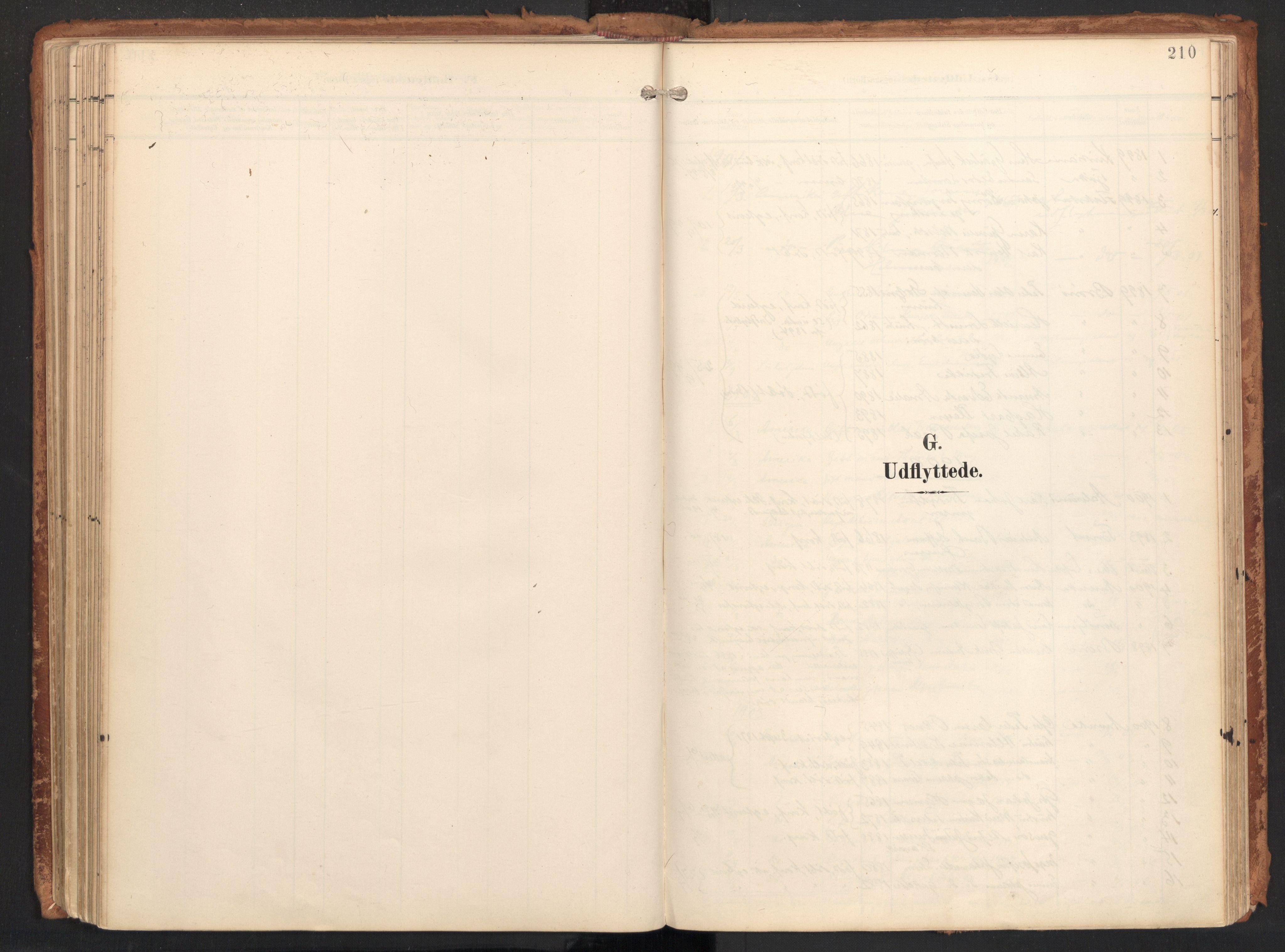 SAT, Ministerialprotokoller, klokkerbøker og fødselsregistre - Nordland, 814/L0227: Ministerialbok nr. 814A08, 1899-1920, s. 210