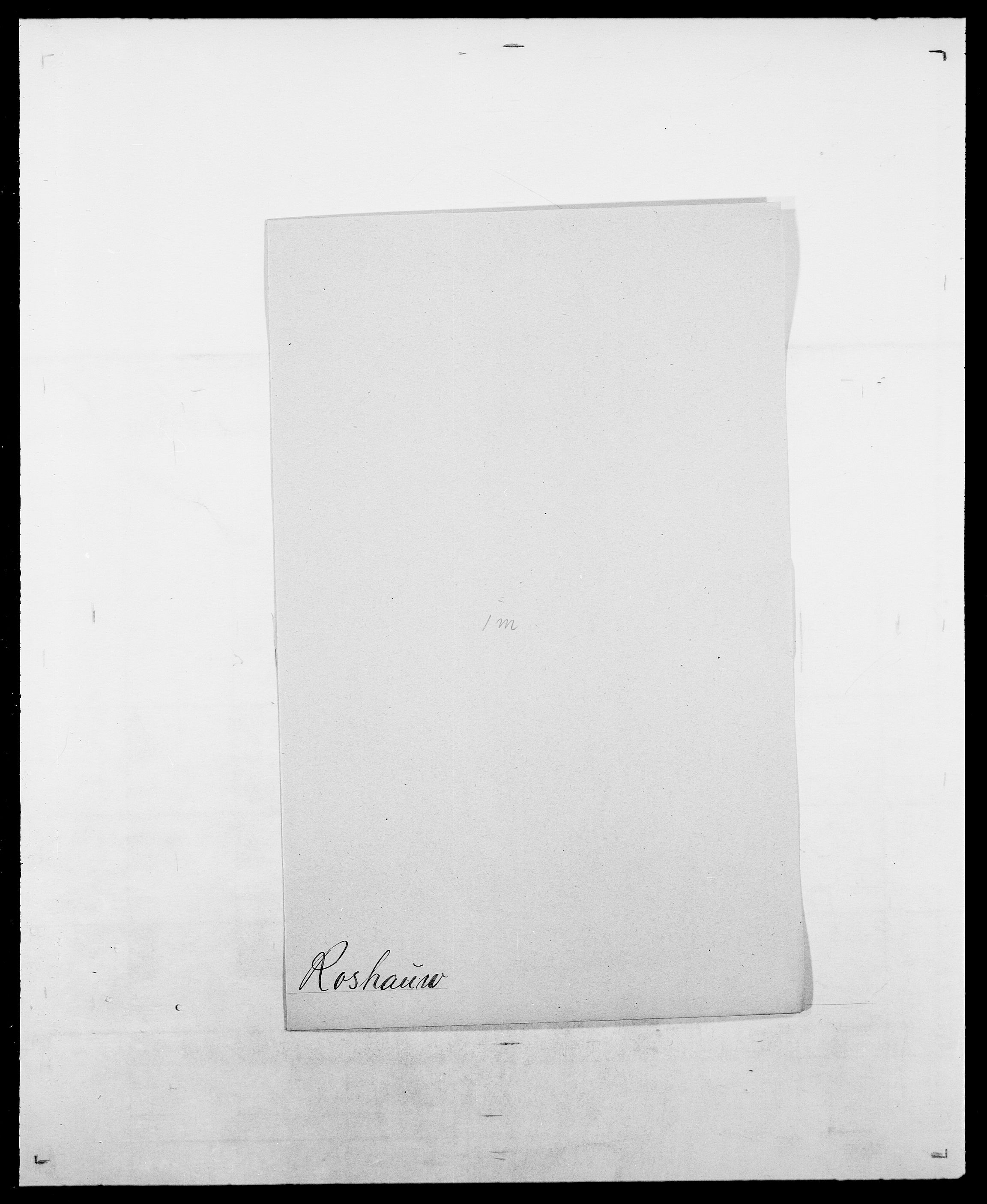SAO, Delgobe, Charles Antoine - samling, D/Da/L0033: Roald - Røyem, s. 309