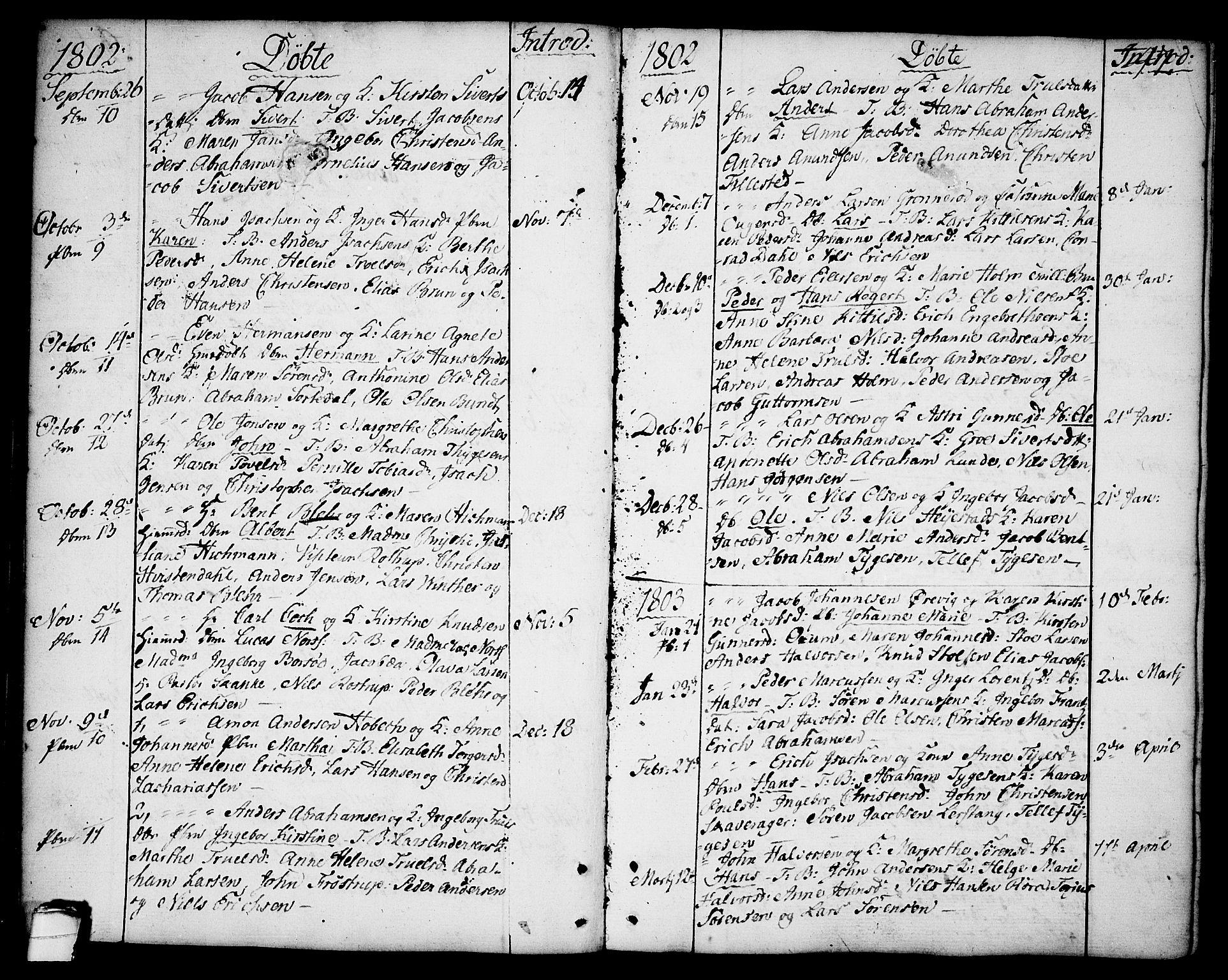 SAKO, Brevik kirkebøker, F/Fa/L0003: Ministerialbok nr. 3, 1764-1814, s. 42