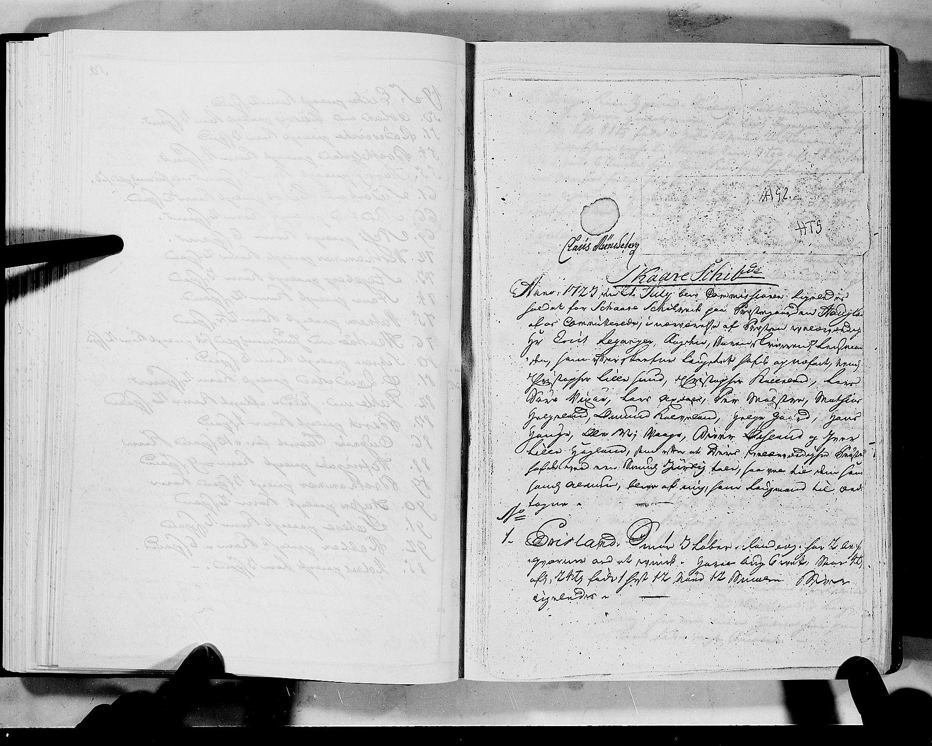 RA, Rentekammeret inntil 1814, Realistisk ordnet avdeling, N/Nb/Nbf/L0133a: Ryfylke eksaminasjonsprotokoll, 1723, s. 50b