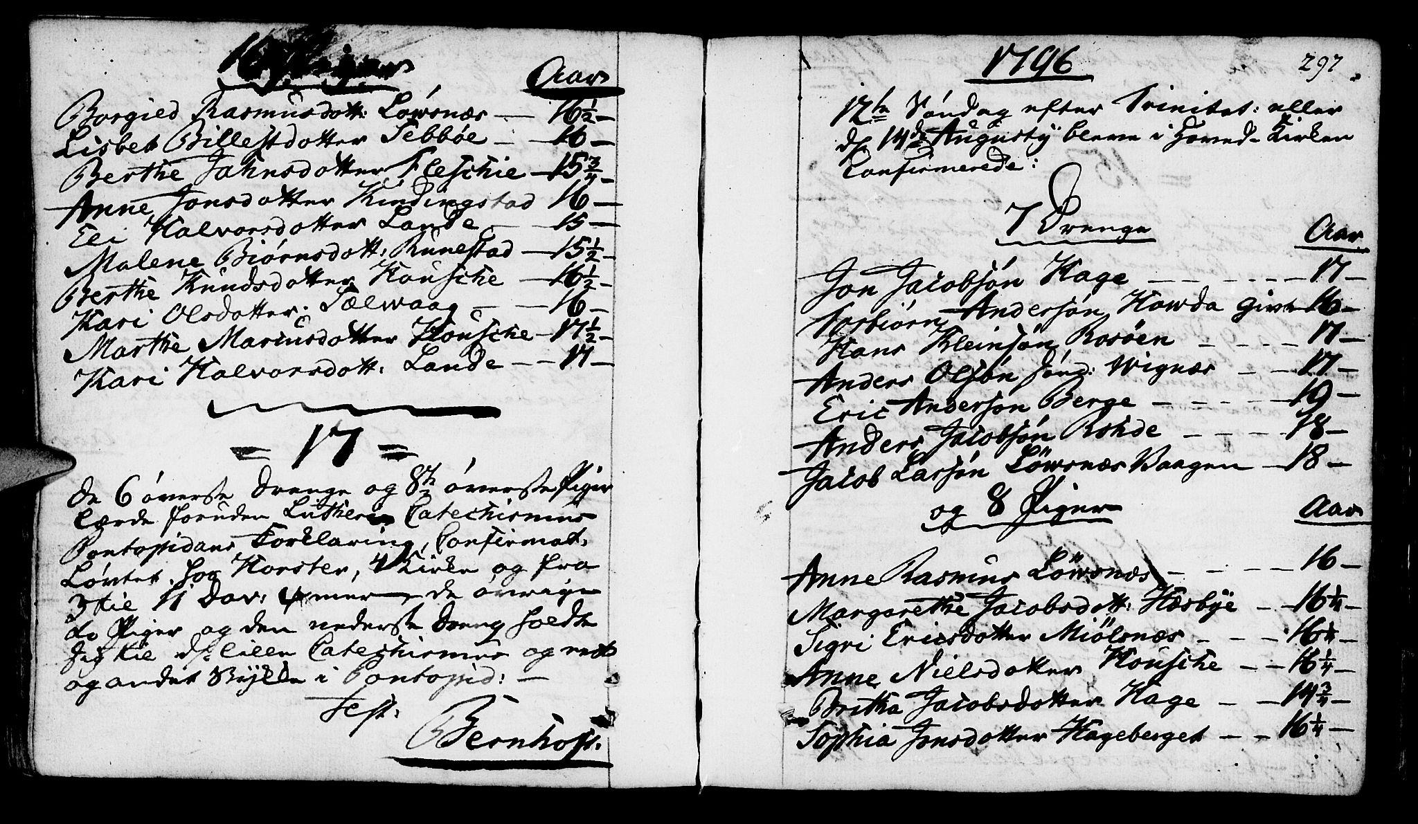 SAST, Finnøy sokneprestkontor, H/Ha/Haa/L0005: Ministerialbok nr. A 5, 1773-1816, s. 297