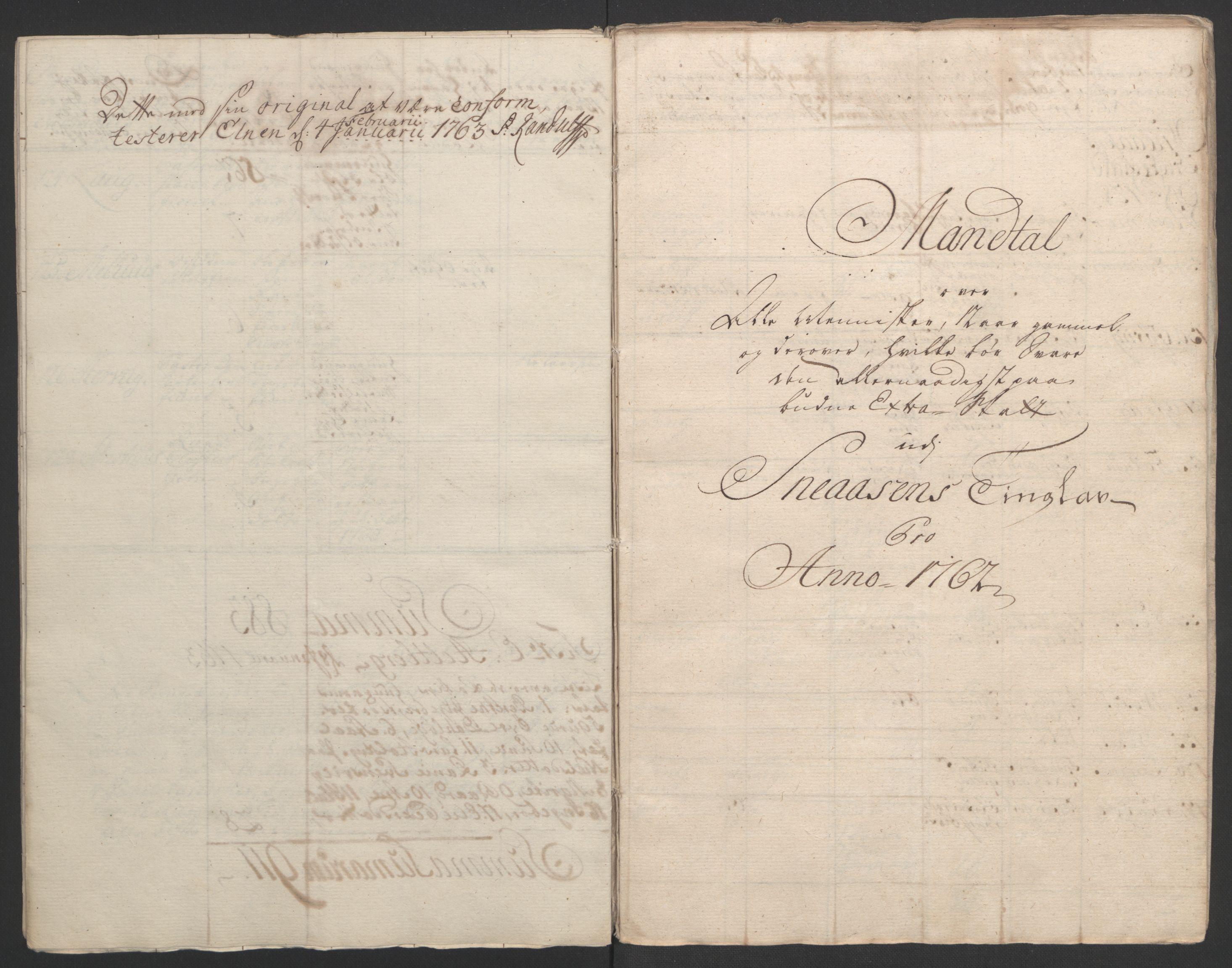 RA, Rentekammeret inntil 1814, Realistisk ordnet avdeling, Ol/L0020: [Gg 10]: Ekstraskatten, 23.09.1762. Romsdal, Strinda, Selbu, Inderøy., 1762-1764, s. 88