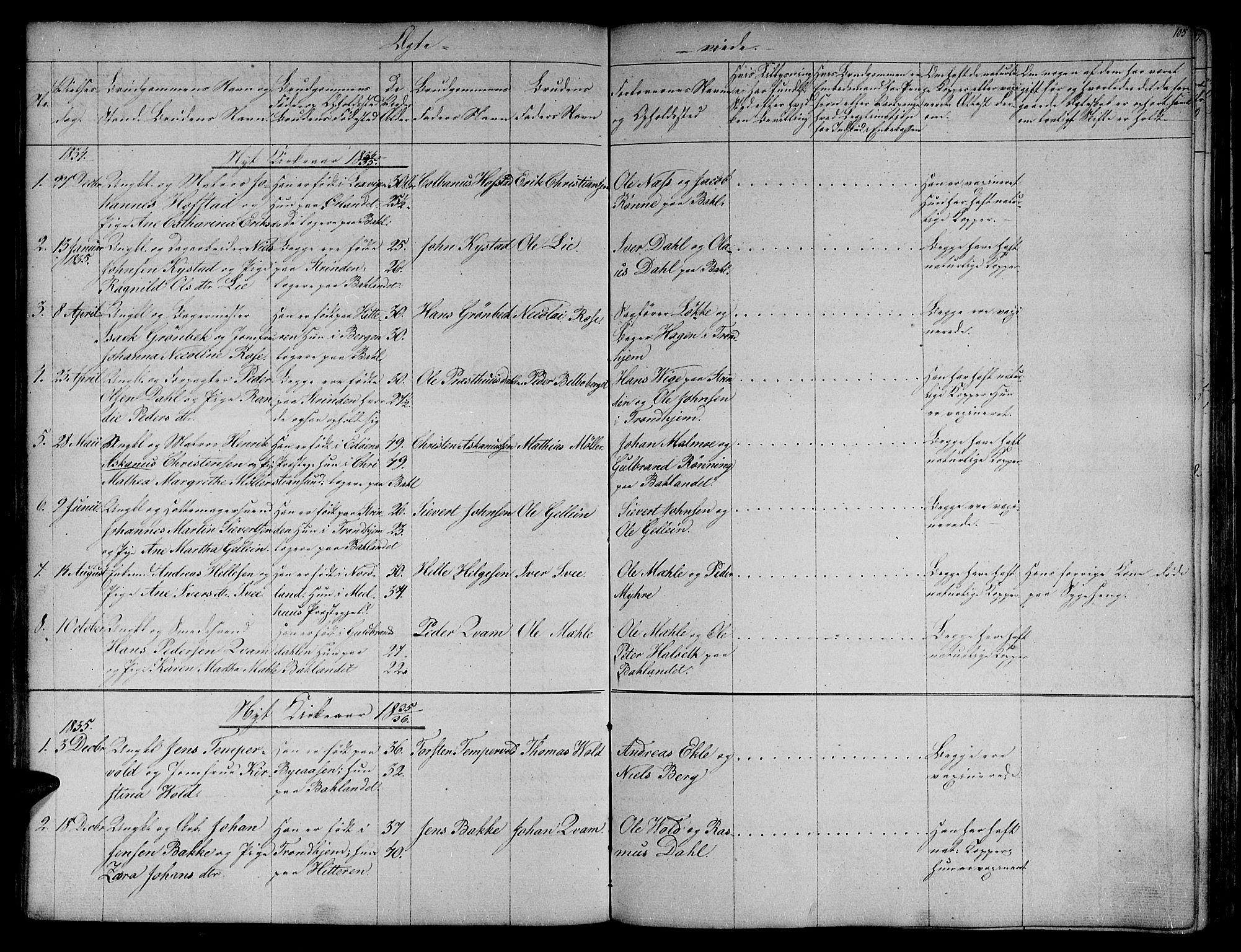 SAT, Ministerialprotokoller, klokkerbøker og fødselsregistre - Sør-Trøndelag, 604/L0182: Ministerialbok nr. 604A03, 1818-1850, s. 105