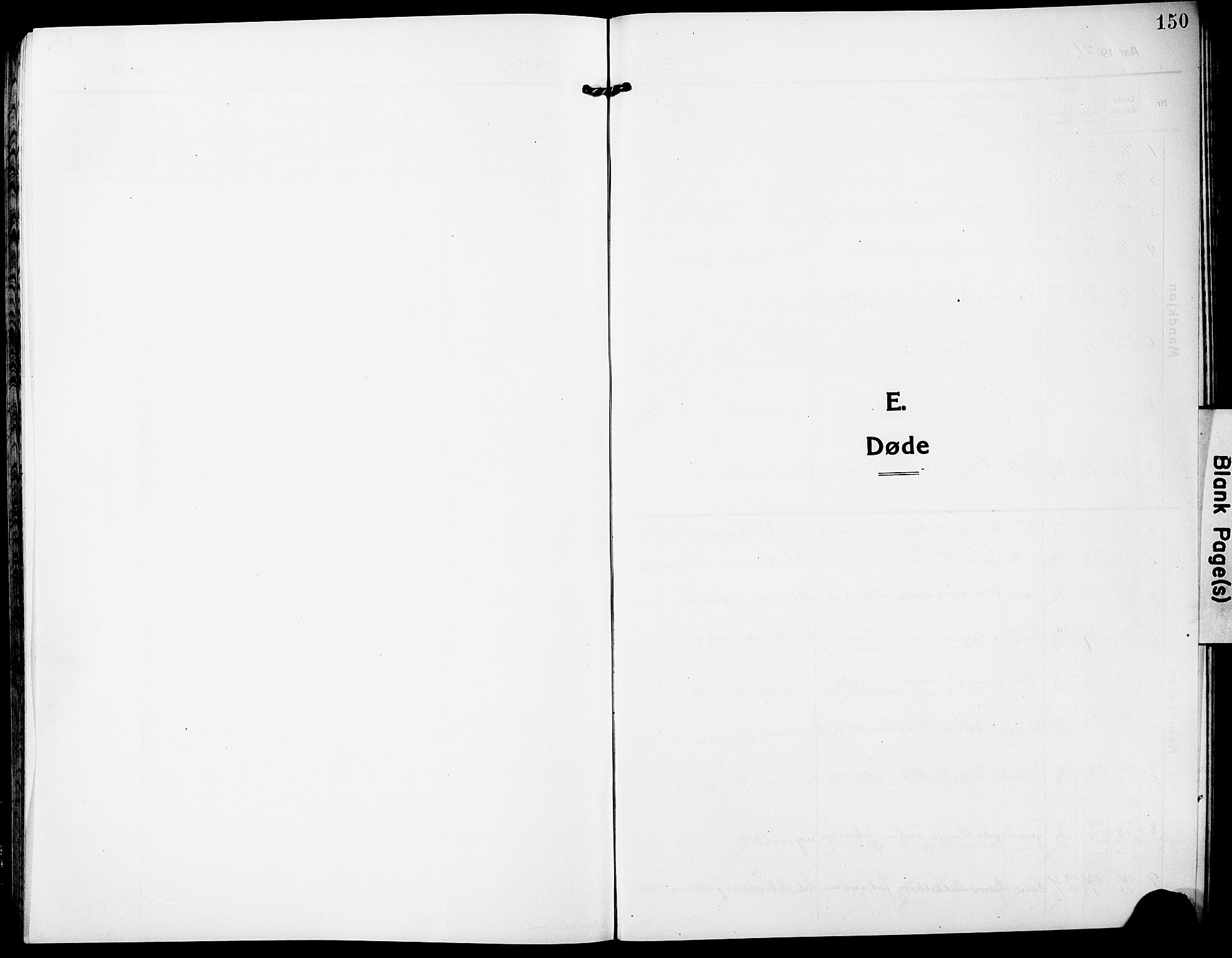 SAT, Ministerialprotokoller, klokkerbøker og fødselsregistre - Nordland, 827/L0424: Klokkerbok nr. 827C13, 1921-1930, s. 150