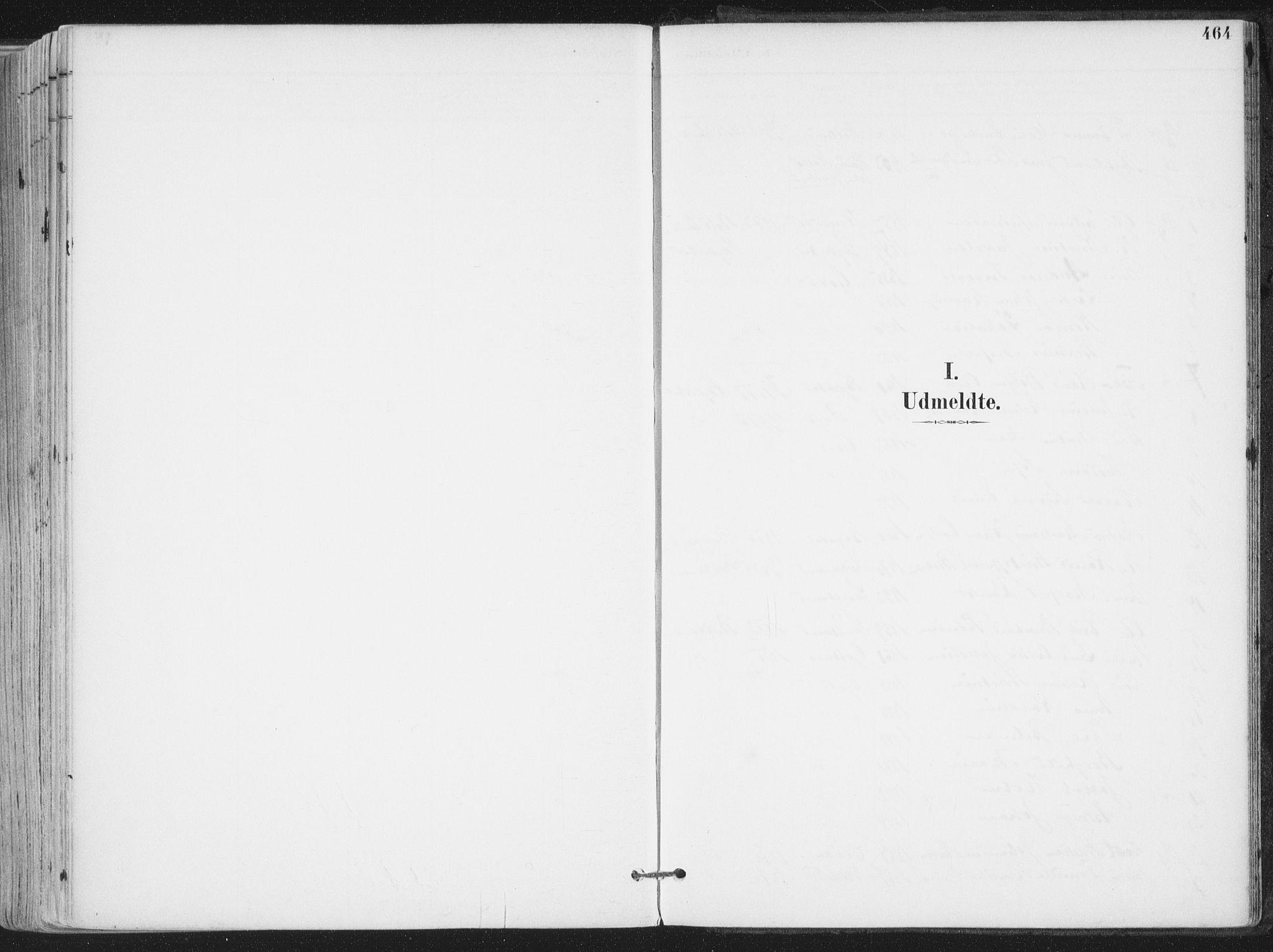 SAT, Ministerialprotokoller, klokkerbøker og fødselsregistre - Nordland, 802/L0055: Ministerialbok nr. 802A02, 1894-1915, s. 464