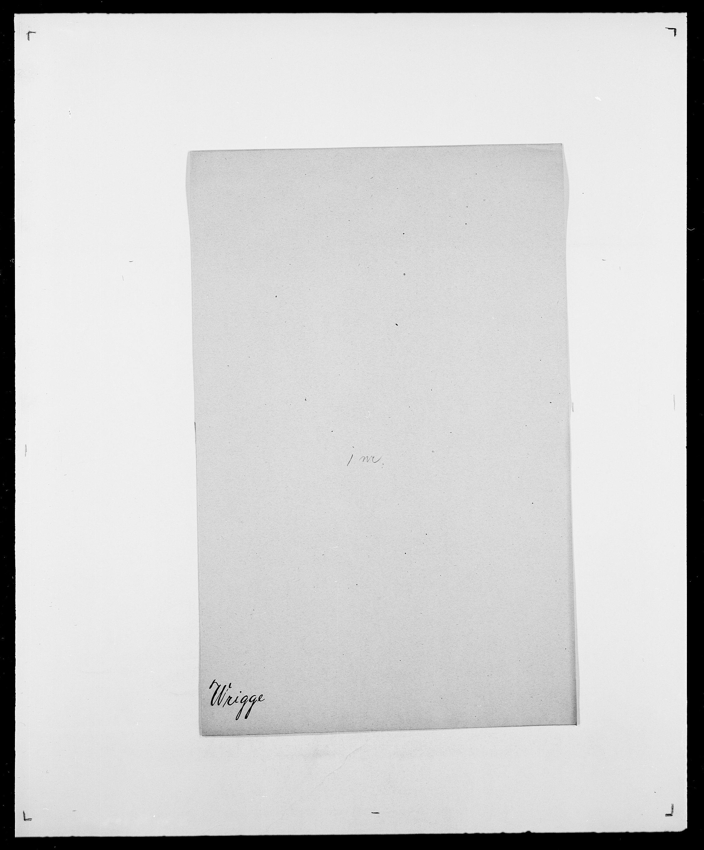 SAO, Delgobe, Charles Antoine - samling, D/Da/L0042: Vilain - Wulf, Wulff, se også Wolf, s. 757