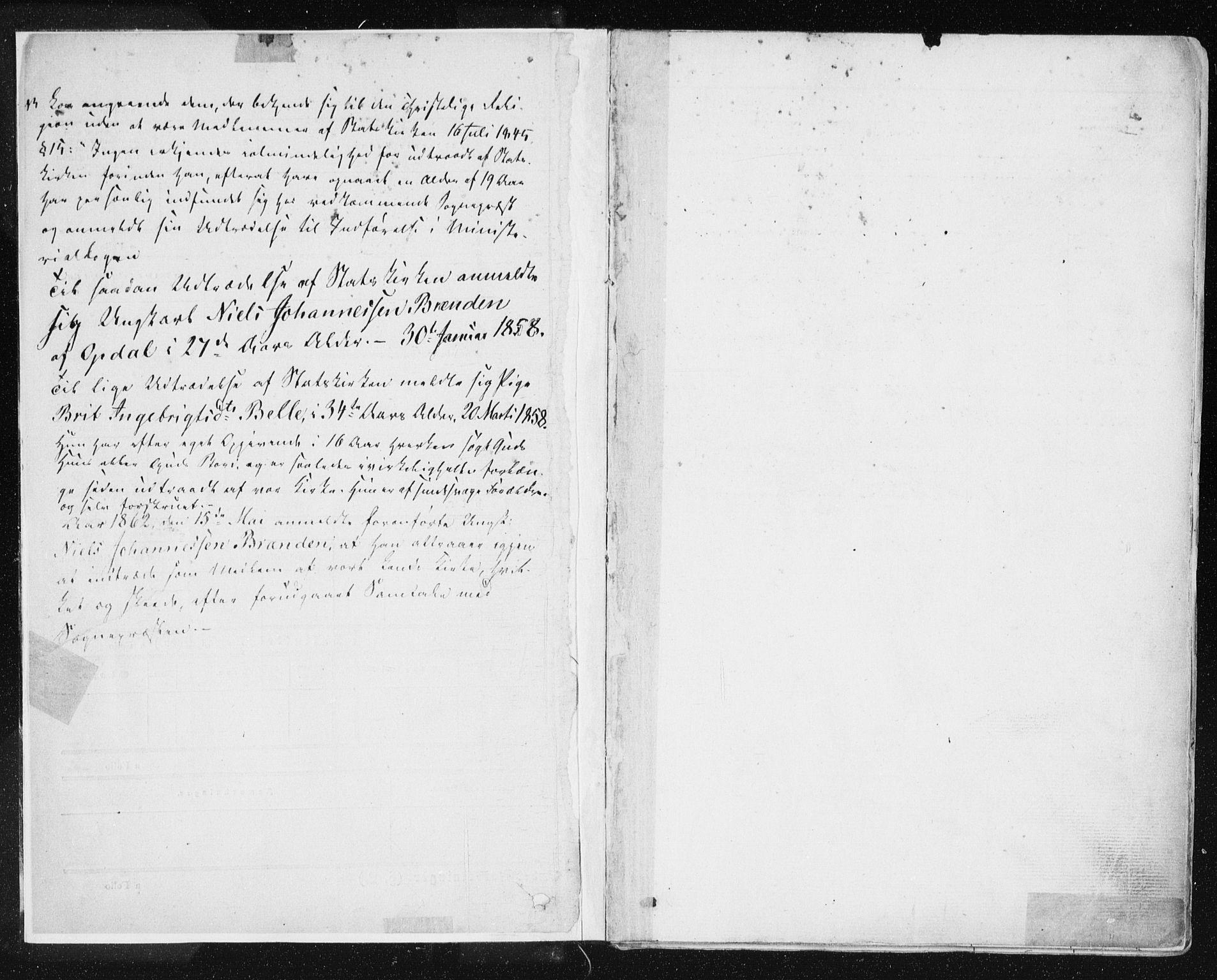 SAT, Ministerialprotokoller, klokkerbøker og fødselsregistre - Sør-Trøndelag, 678/L0899: Ministerialbok nr. 678A08, 1848-1872