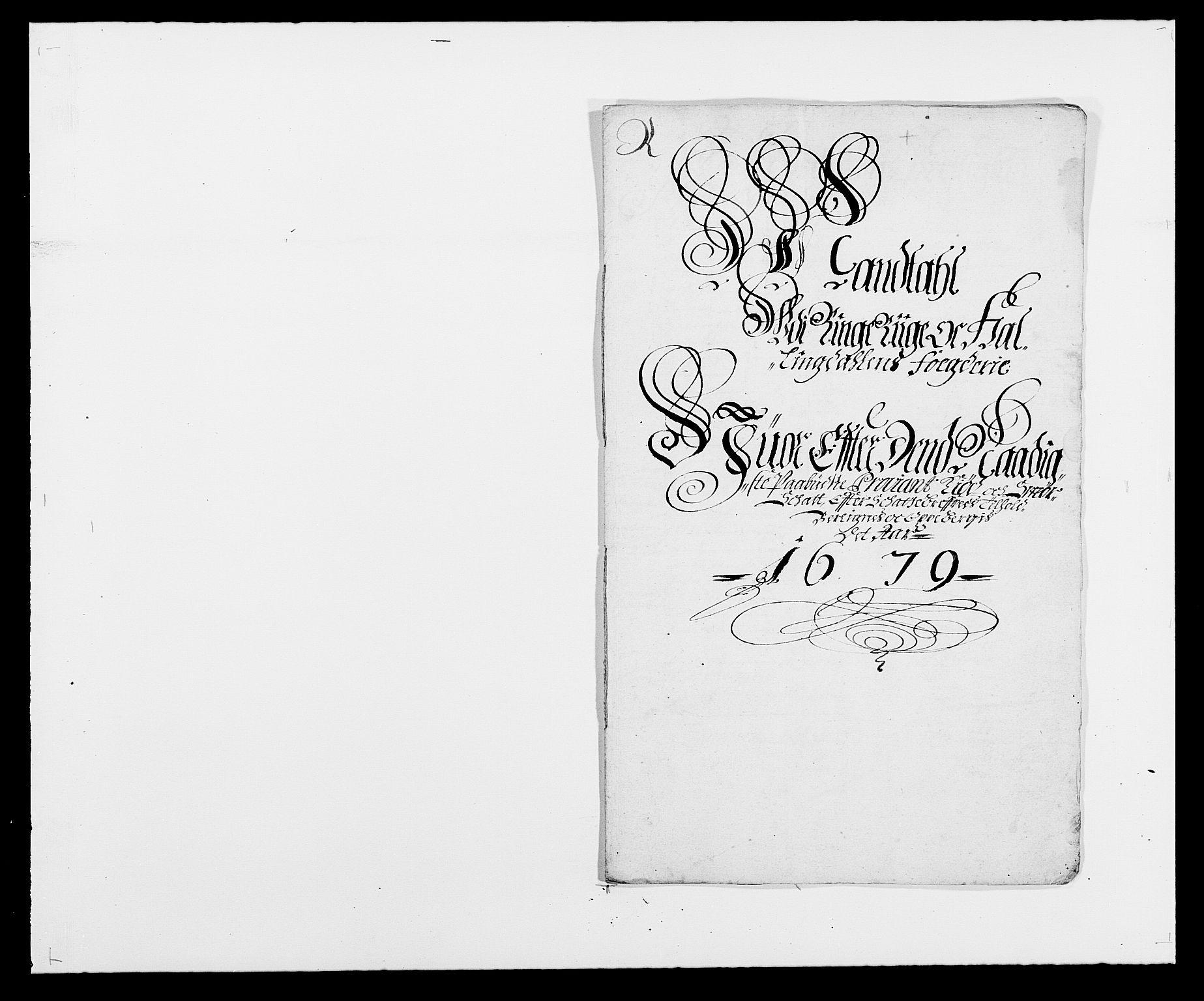 RA, Rentekammeret inntil 1814, Reviderte regnskaper, Fogderegnskap, R21/L1443: Fogderegnskap Ringerike og Hallingdal, 1678-1680, s. 284