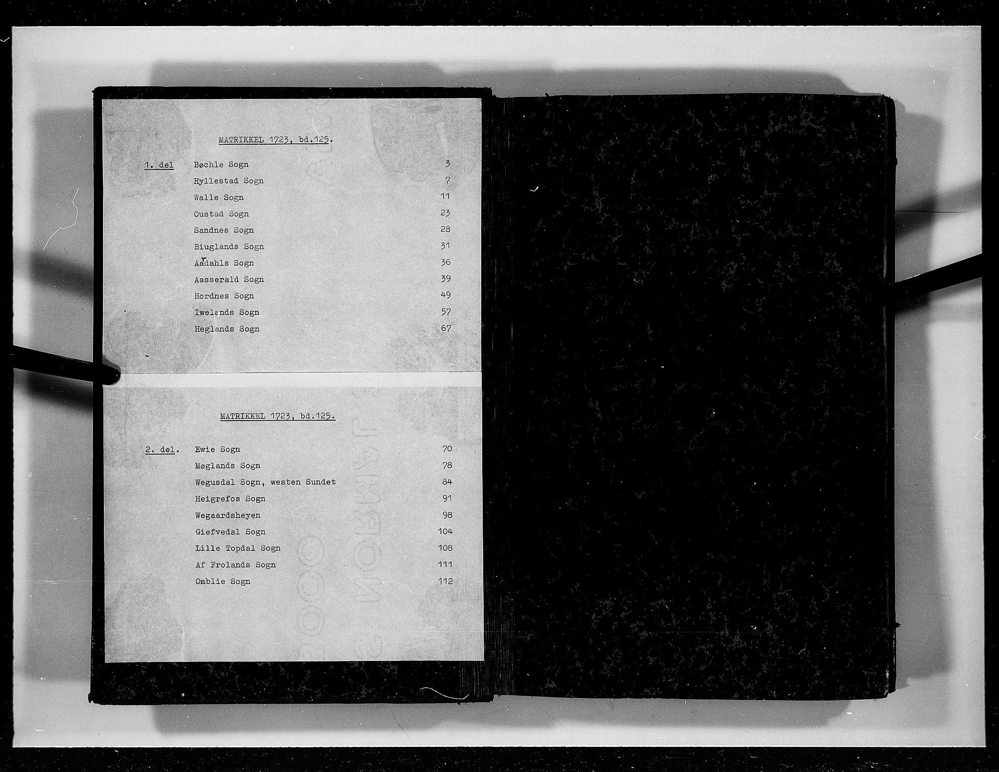 RA, Rentekammeret inntil 1814, Realistisk ordnet avdeling, N/Nb/Nbf/L0125: Råbyggelag eksaminasjonsprotokoll, 1723, s. upaginert