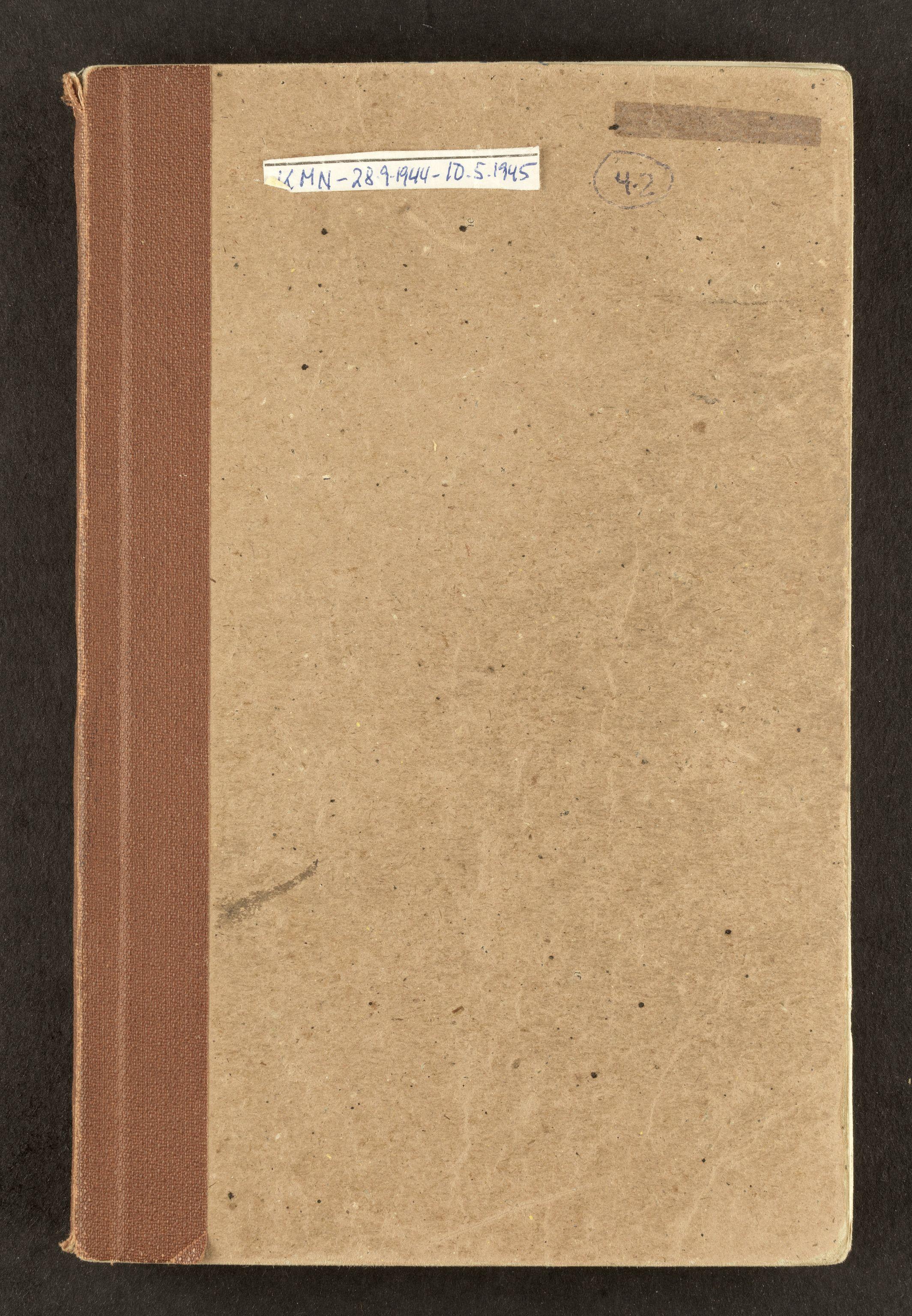 AAB, Nordahl, Konrad, F/L0001: Dagbøker, 1944-1945