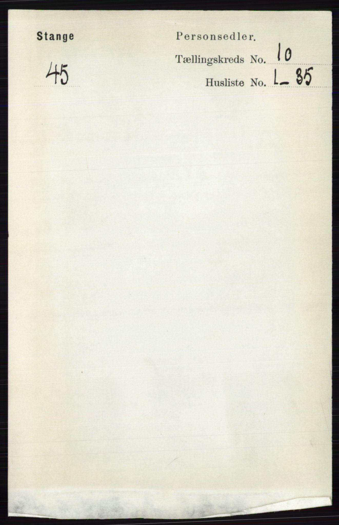 RA, Folketelling 1891 for 0417 Stange herred, 1891, s. 6799