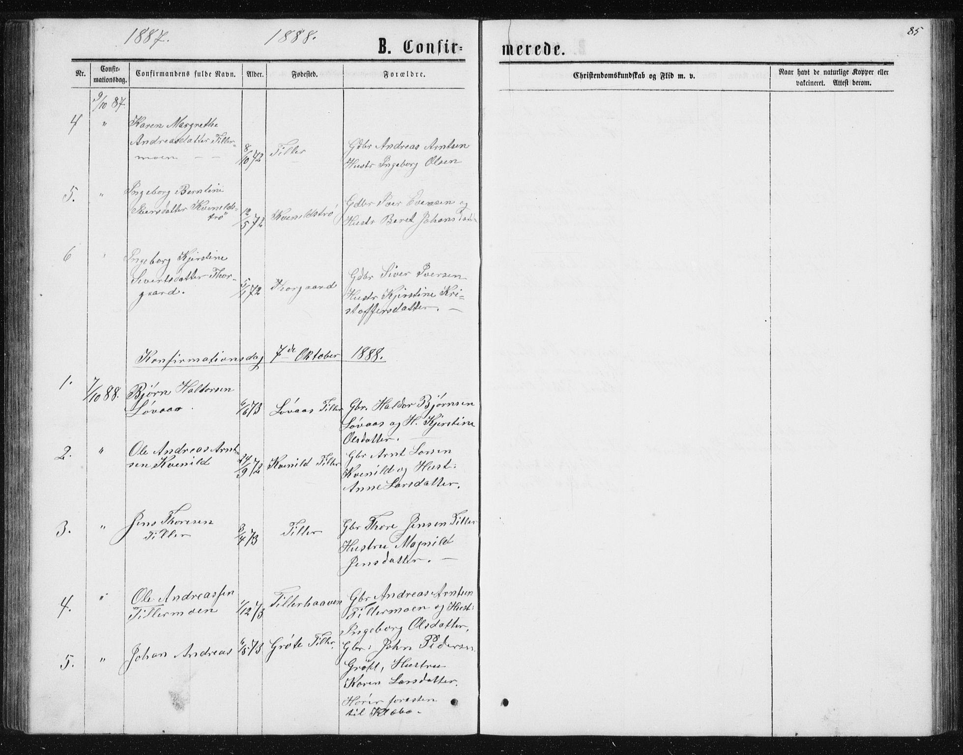 SAT, Ministerialprotokoller, klokkerbøker og fødselsregistre - Sør-Trøndelag, 621/L0459: Klokkerbok nr. 621C02, 1866-1895, s. 85