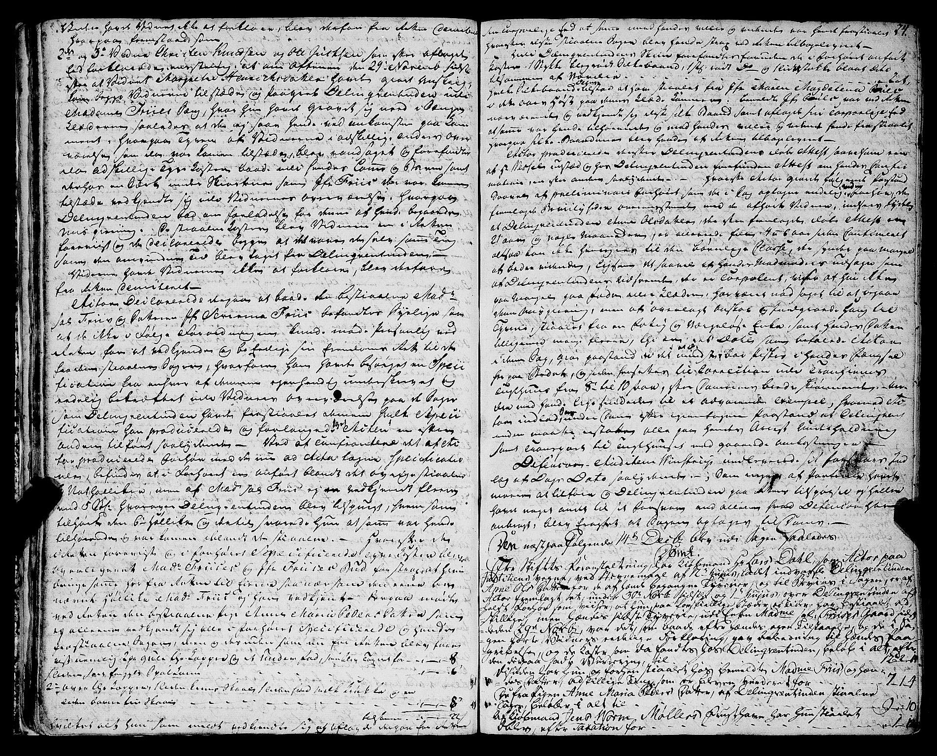 SAT, Molde byfogd, 1/1A/L0002: Justisprotokoll, 1797-1831, s. 23b-24a