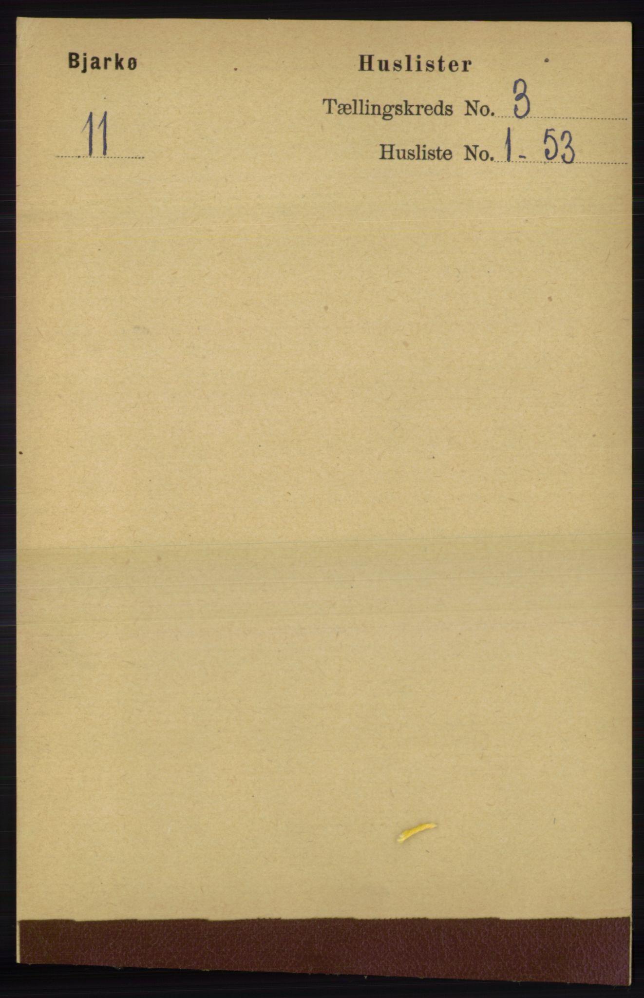 RA, Folketelling 1891 for 1915 Bjarkøy herred, 1891, s. 1480