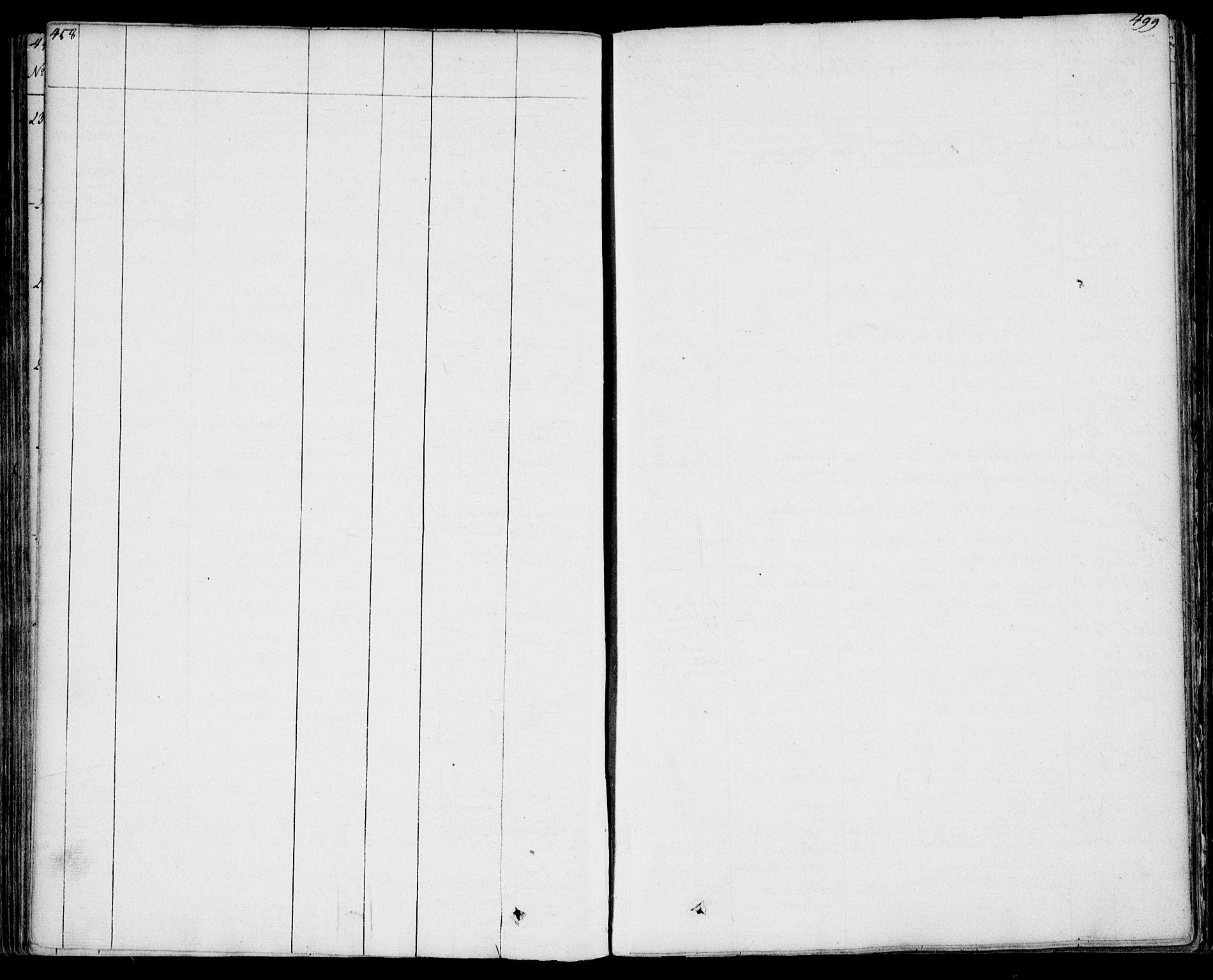 SAKO, Bamble kirkebøker, F/Fa/L0004: Ministerialbok nr. I 4, 1834-1853, s. 498-499