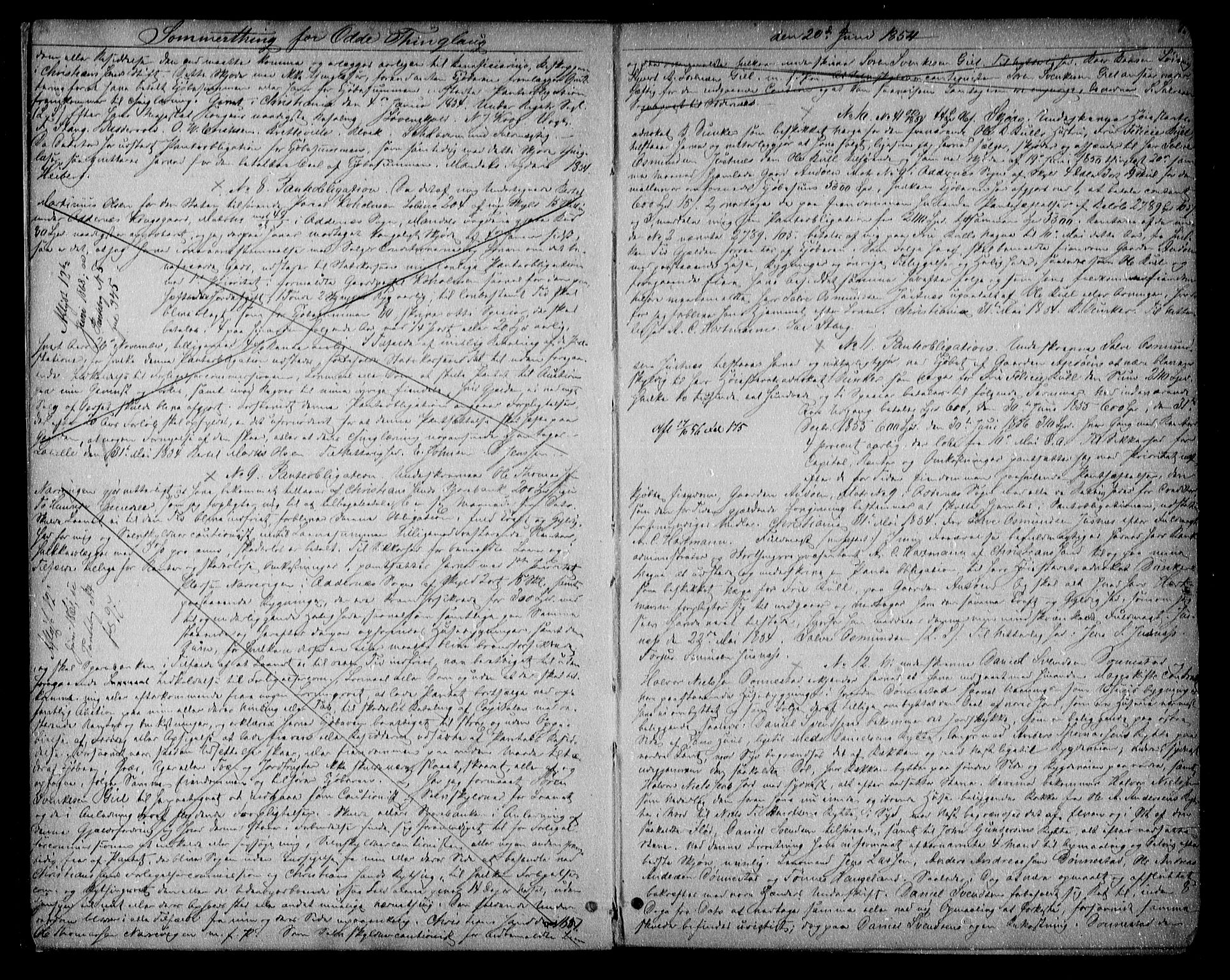 SAK, Torridal sorenskriveri, G/Gb/Gba/L0004: Pantebok nr. 3, 1854-1860, s. 7