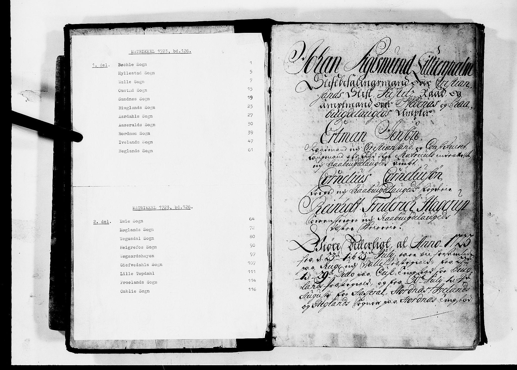 RA, Rentekammeret inntil 1814, Realistisk ordnet avdeling, N/Nb/Nbf/L0126: Råbyggelag matrikkelprotokoll, 1723, s. upaginert