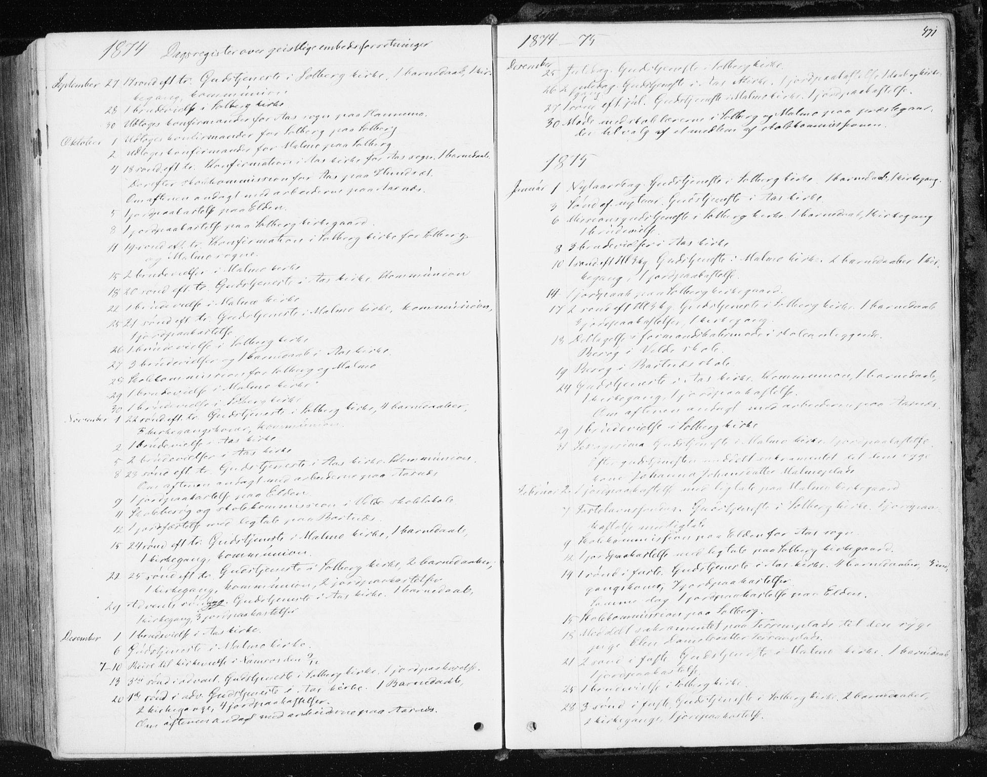 SAT, Ministerialprotokoller, klokkerbøker og fødselsregistre - Nord-Trøndelag, 741/L0394: Ministerialbok nr. 741A08, 1864-1877, s. 471