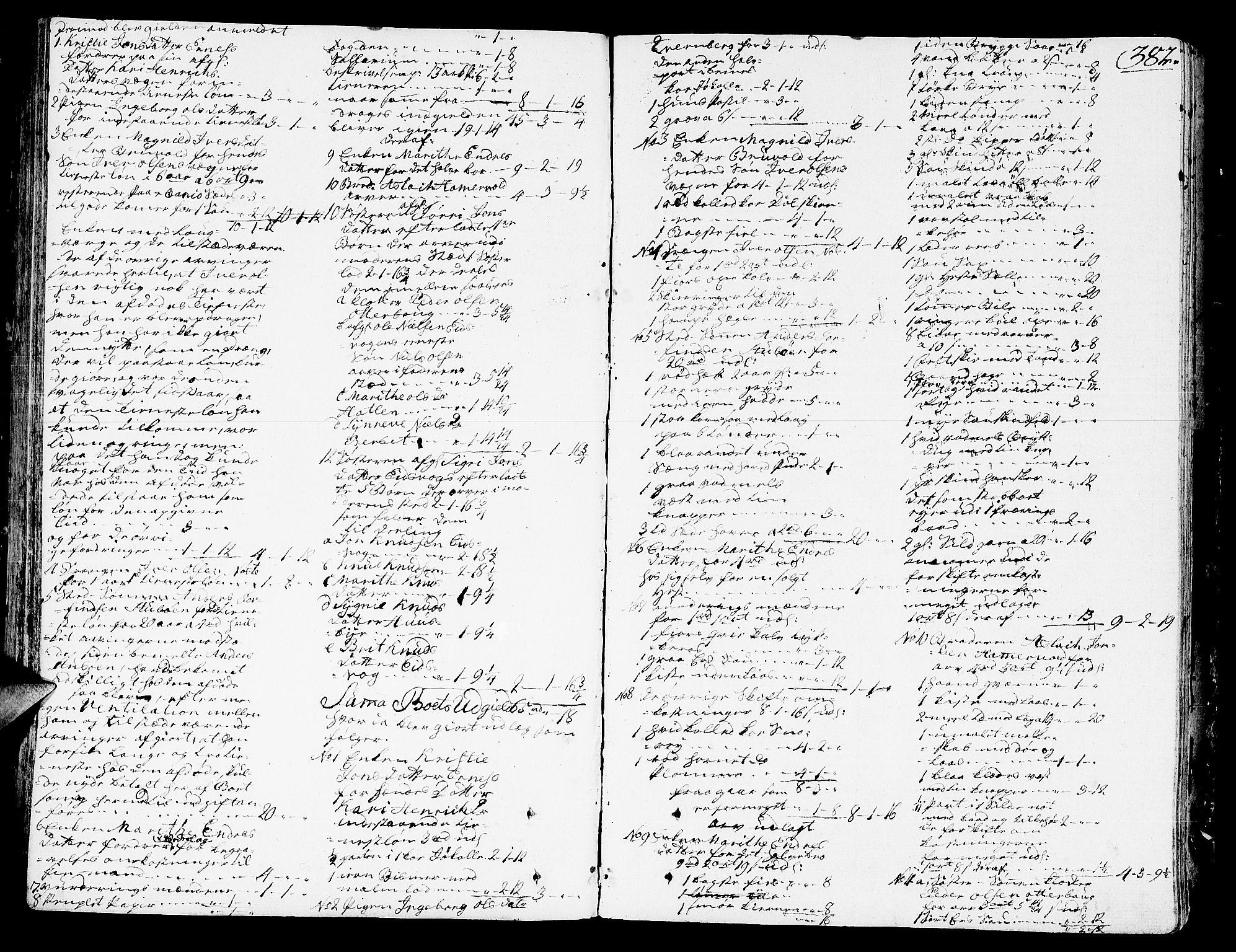 SAT, Romsdal sorenskriveri, 3/3A/L0011: Skifteprotokoll, 1782-1789, s. 381b-382a
