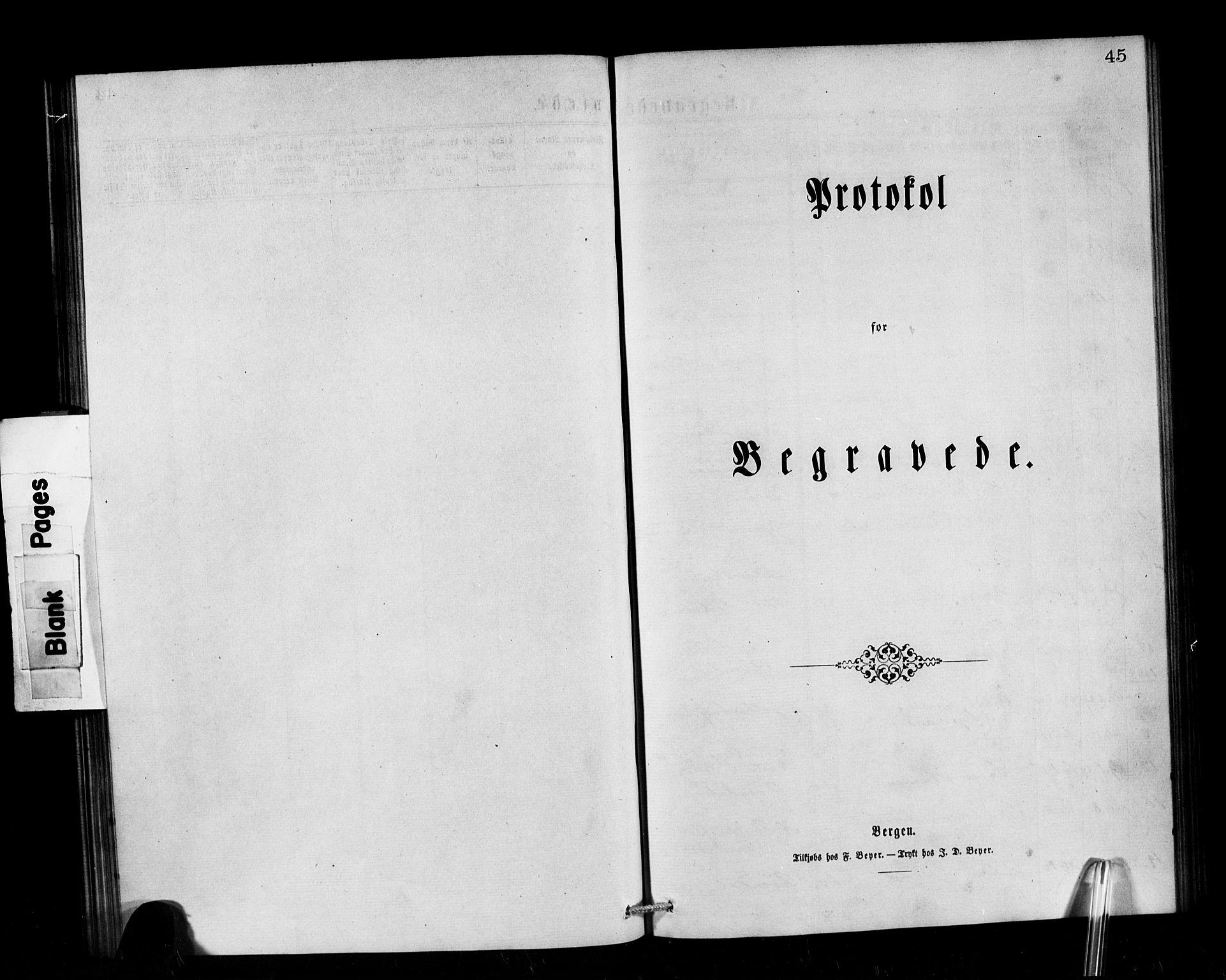 SAB, Privatarkiv 101 - Den norske sjømannsmisjon i utlandet/Tyne-havnene (North Shields og New Castle), H/Ha/L0001: Ministerialbok nr. A 1, 1865-1883, s. 45