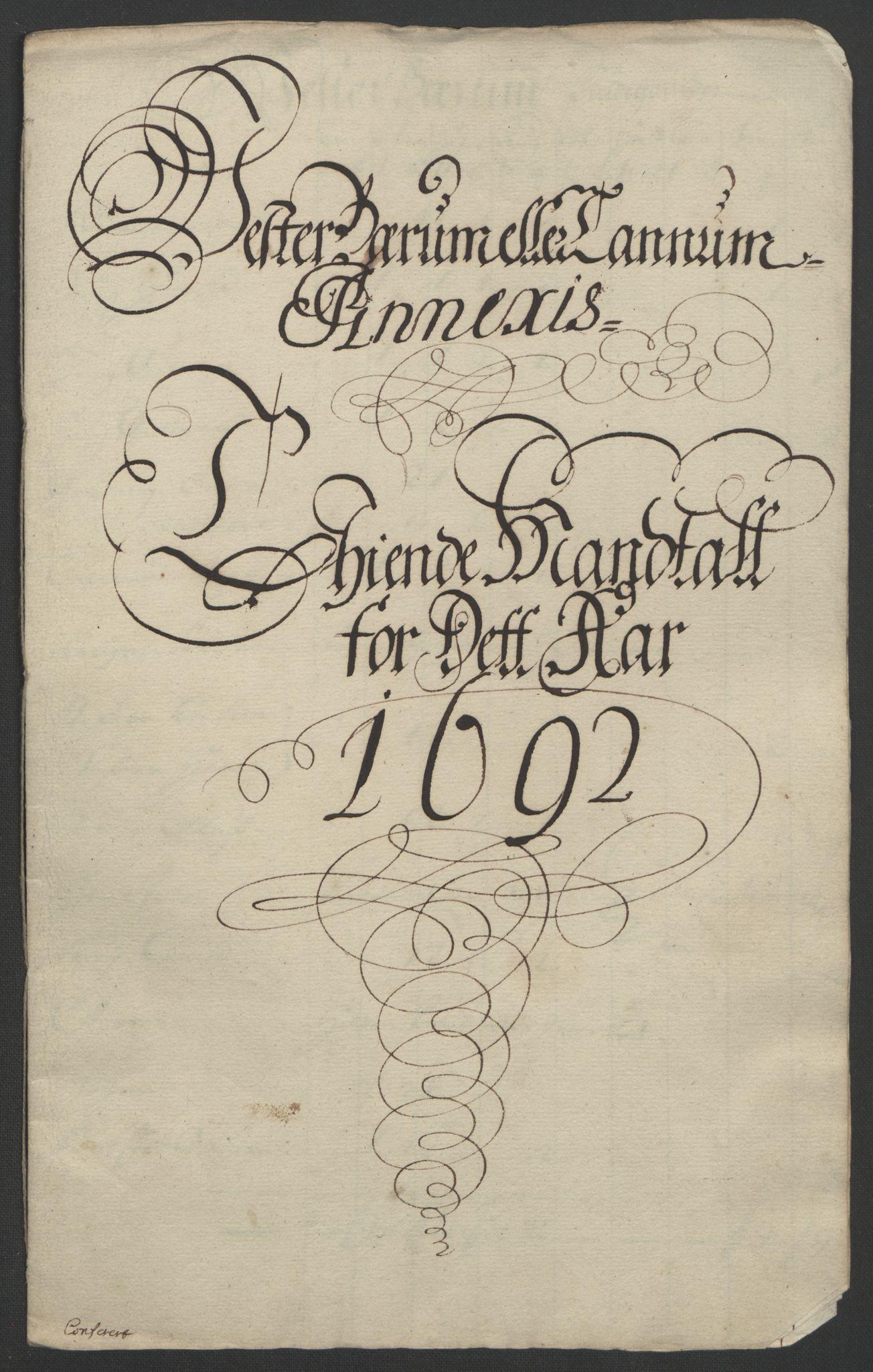 RA, Rentekammeret inntil 1814, Reviderte regnskaper, Fogderegnskap, R08/L0426: Fogderegnskap Aker, 1692-1693, s. 70