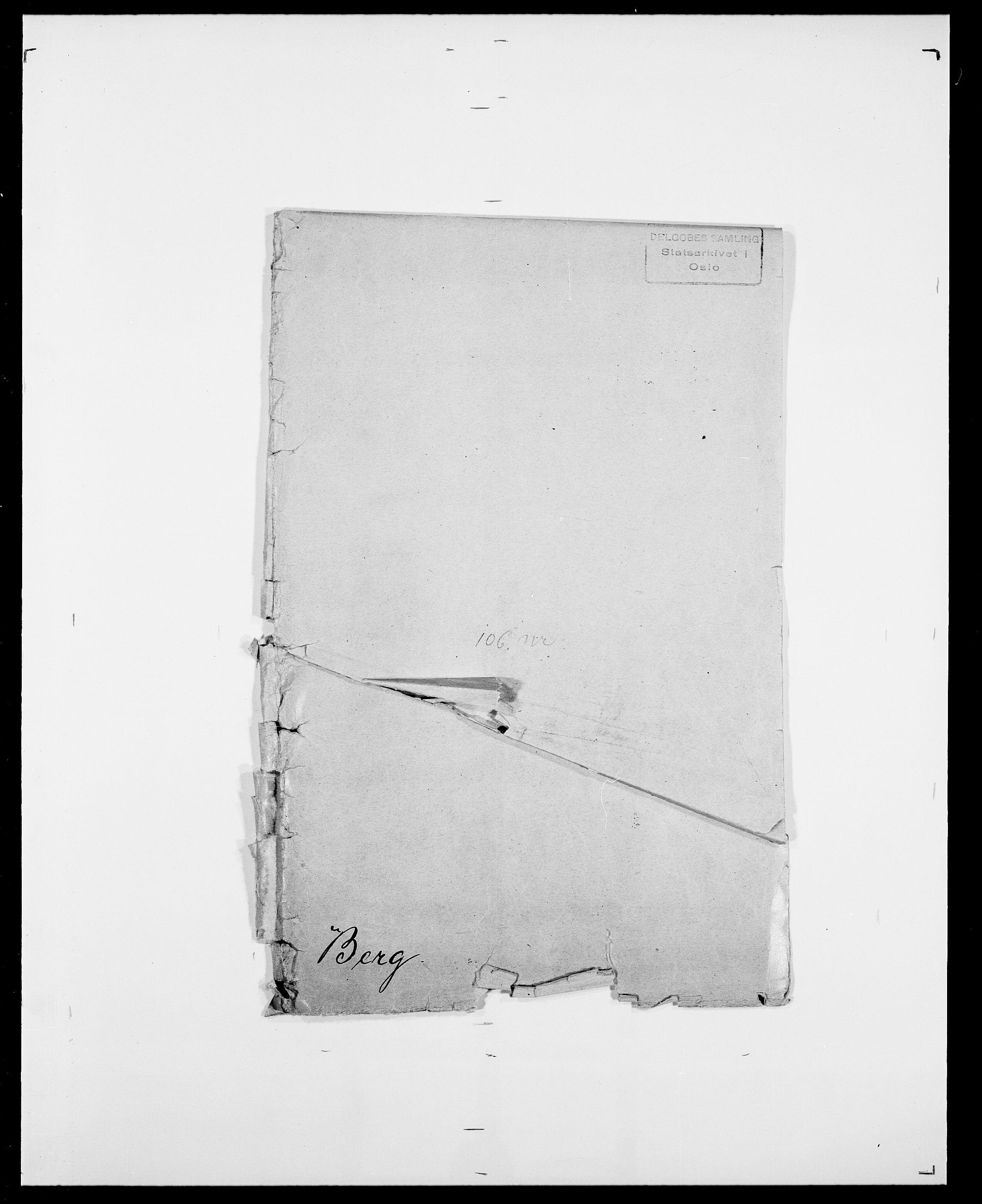 SAO, Delgobe, Charles Antoine - samling, D/Da/L0003: Barca - Bergen, s. 932
