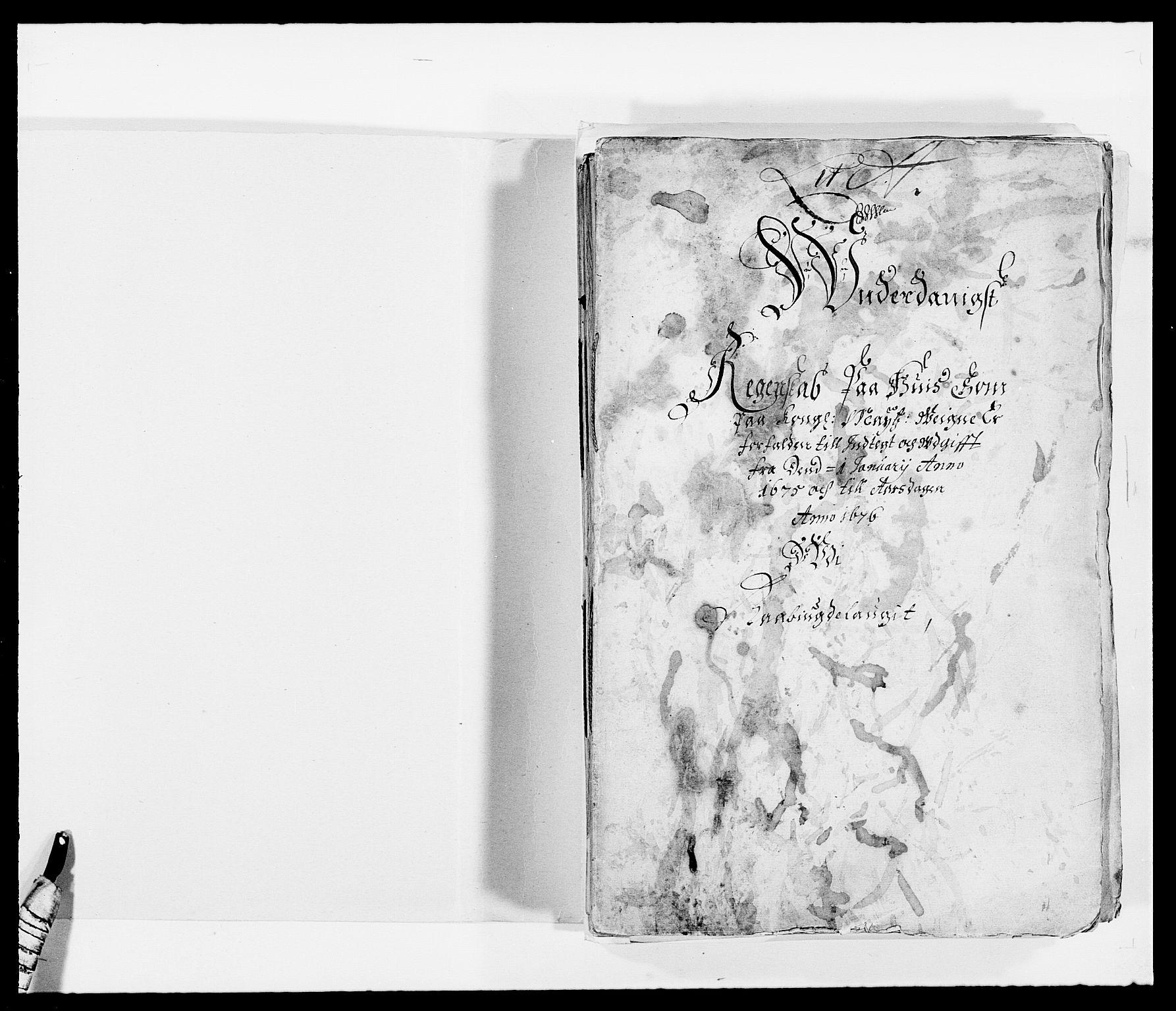 RA, Rentekammeret inntil 1814, Reviderte regnskaper, Fogderegnskap, R40/L2434: Fogderegnskap Råbyggelag, 1675-1676, s. 2
