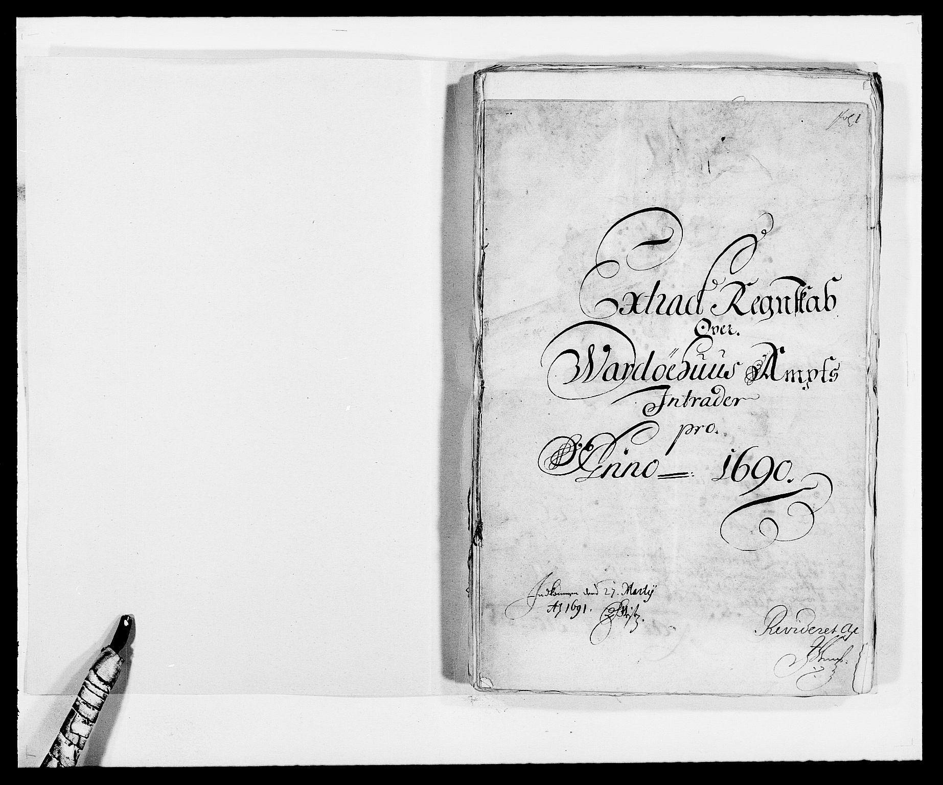 RA, Rentekammeret inntil 1814, Reviderte regnskaper, Fogderegnskap, R69/L4850: Fogderegnskap Finnmark/Vardøhus, 1680-1690, s. 199