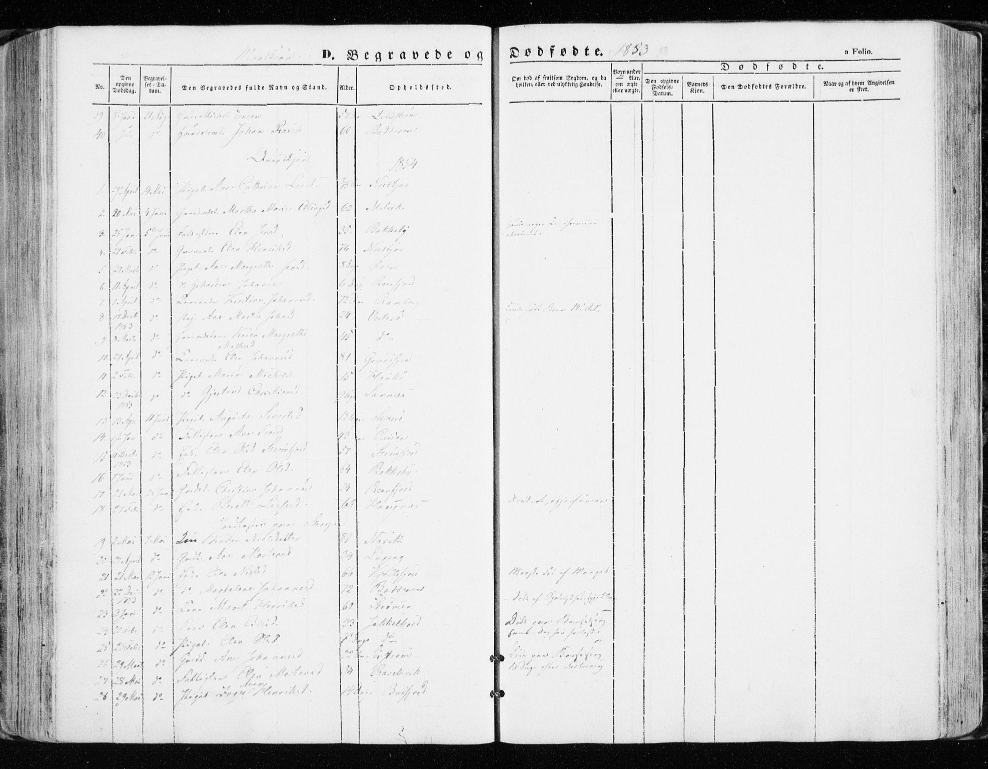 SATØ, Skjervøy sokneprestkontor, H/Ha/Haa/L0006kirke: Ministerialbok nr. 6, 1848-1859