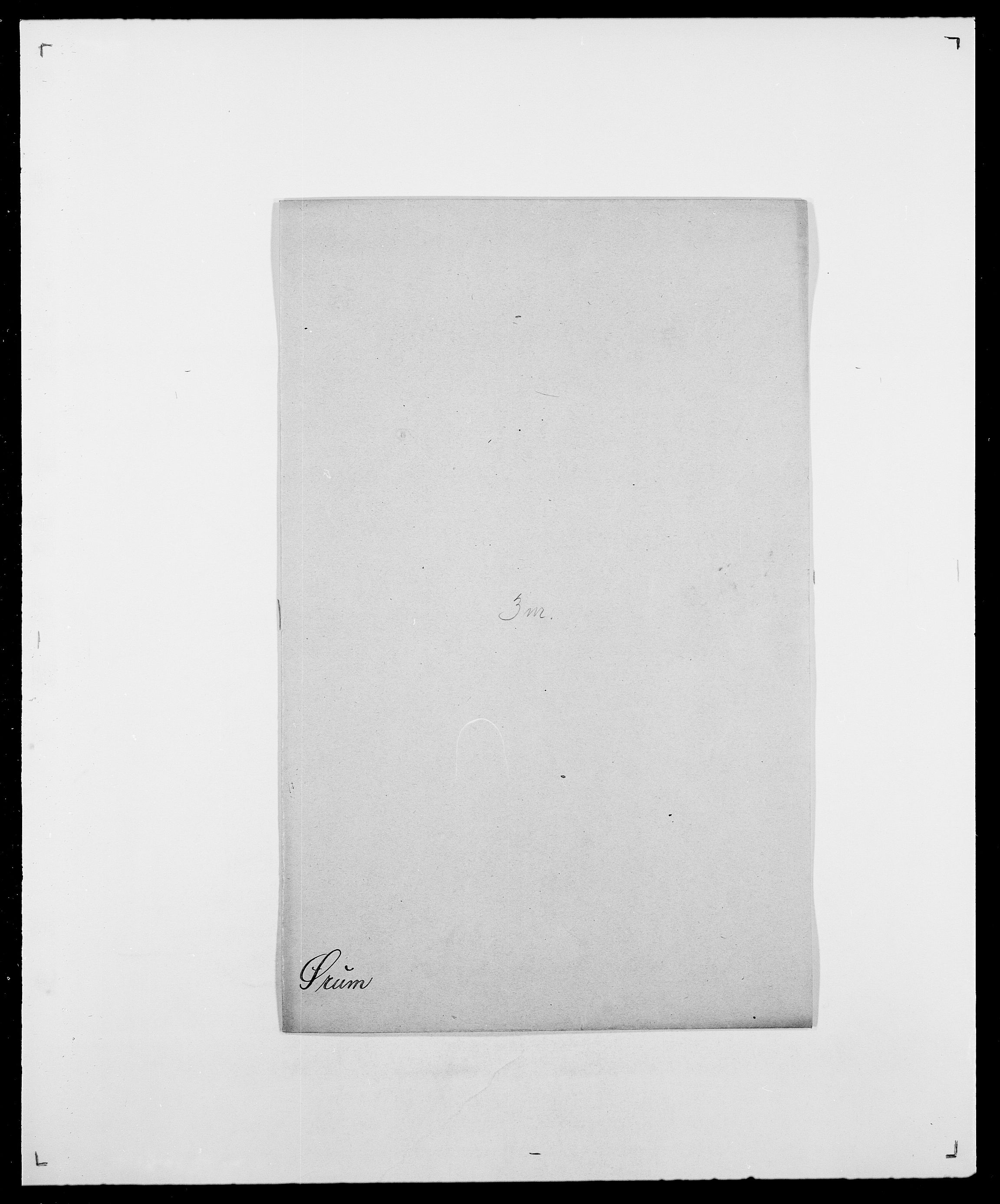 SAO, Delgobe, Charles Antoine - samling, D/Da/L0043: Wulfsberg - v. Zanten, s. 311