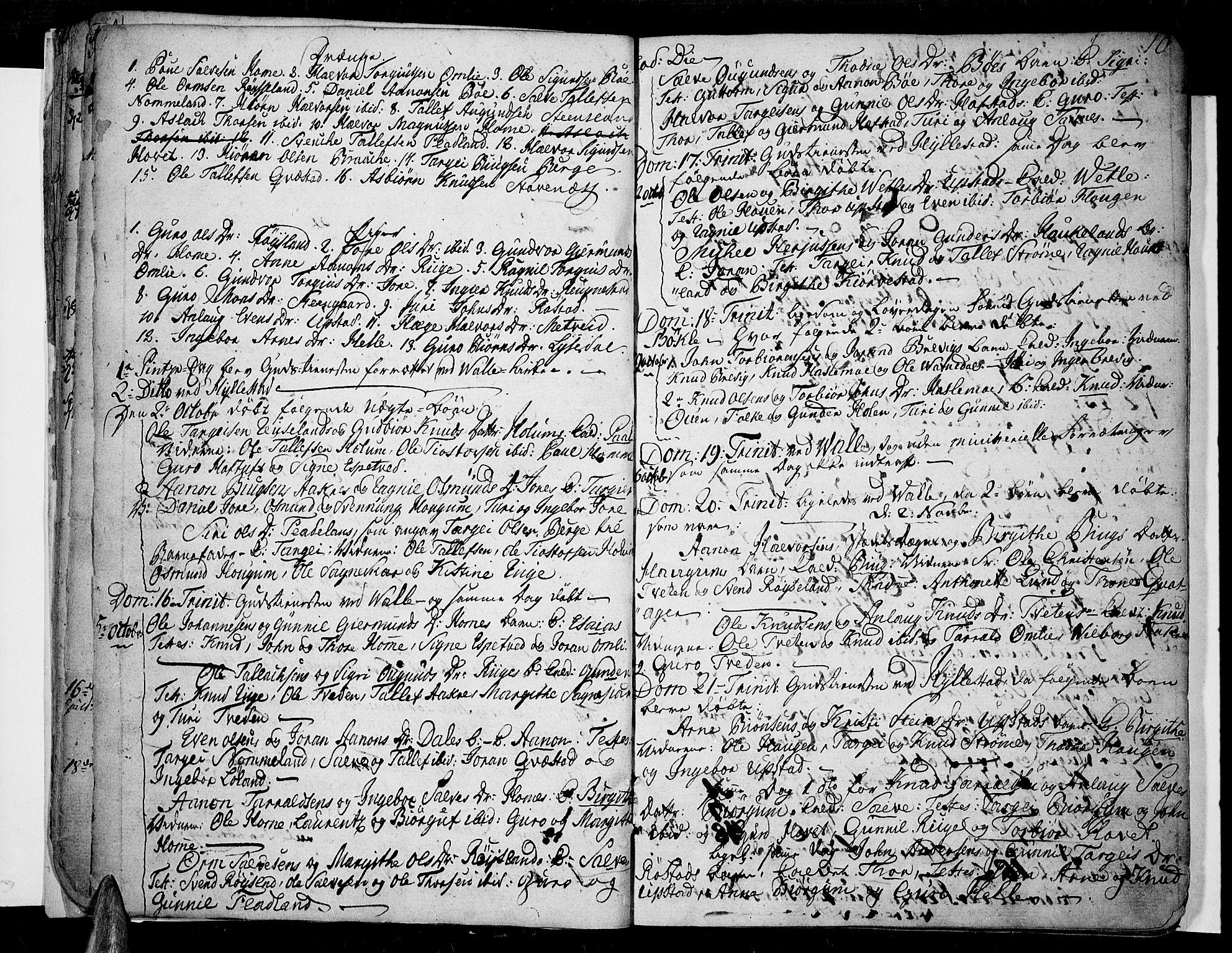 SAK, Valle sokneprestkontor, F/Fa/Fac/L0004: Ministerialbok nr. A 4, 1790-1816, s. 10