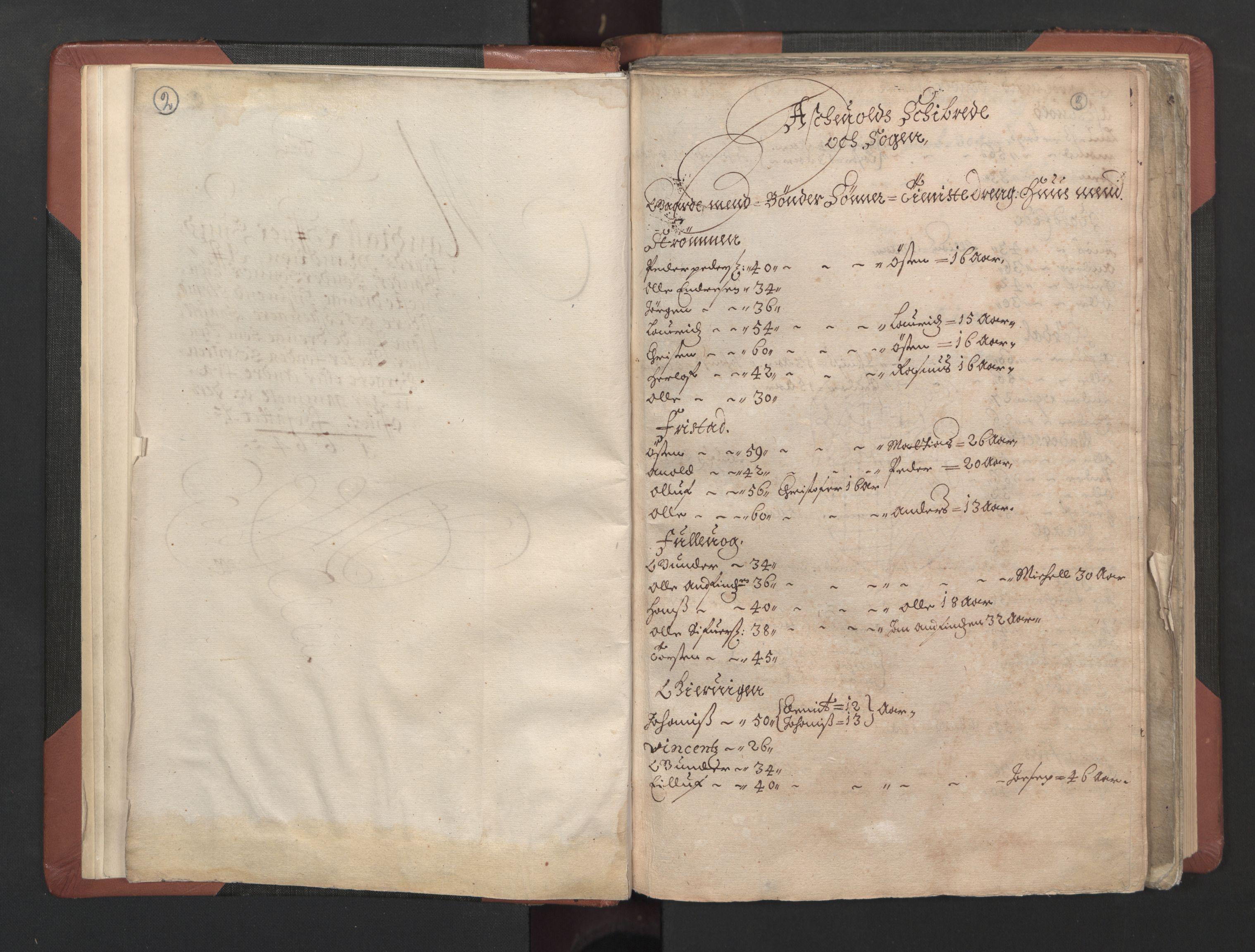 RA, Fogdenes og sorenskrivernes manntall 1664-1666, nr. 15: Nordfjord fogderi og Sunnfjord fogderi, 1664, s. 2-3