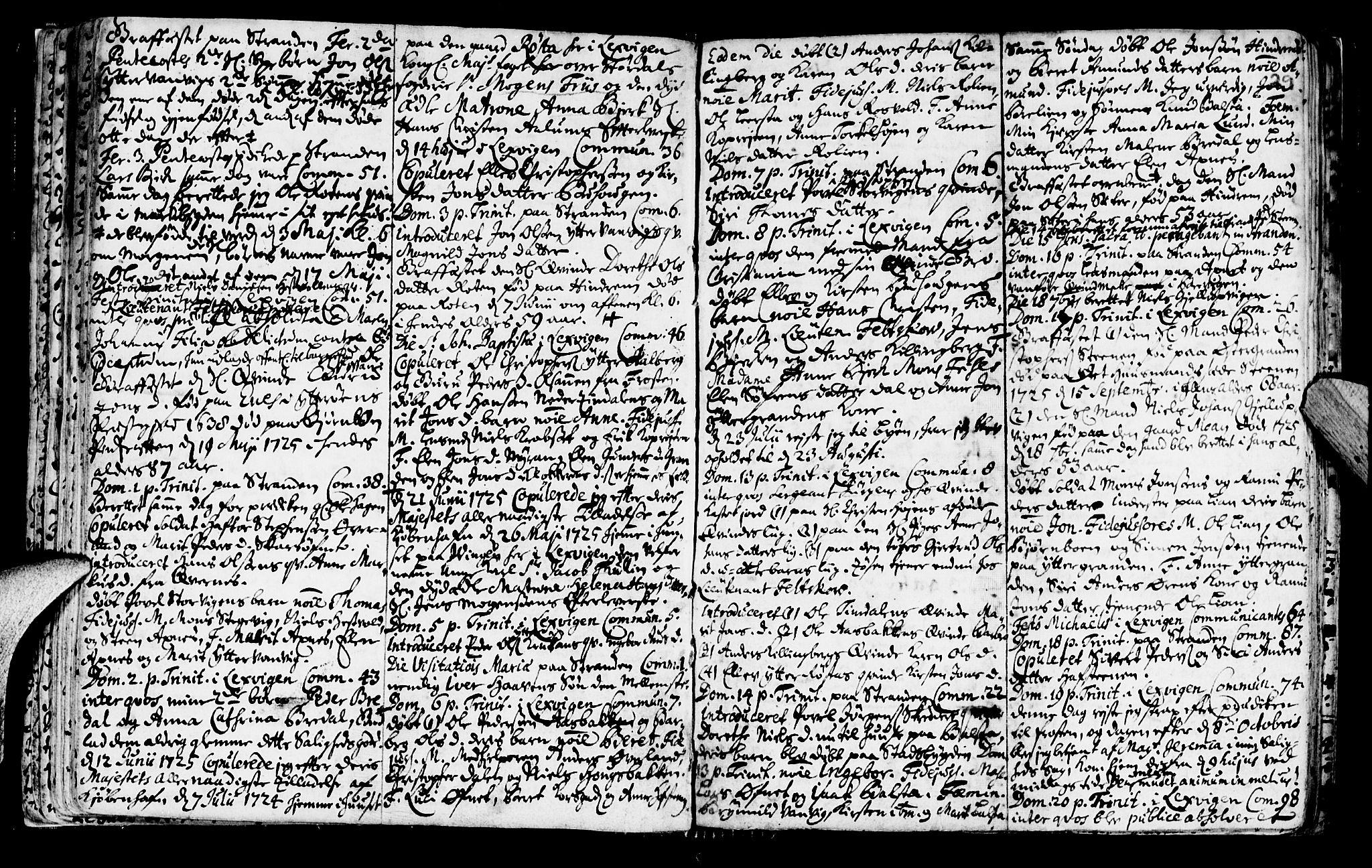 SAT, Ministerialprotokoller, klokkerbøker og fødselsregistre - Nord-Trøndelag, 701/L0001: Ministerialbok nr. 701A01, 1717-1731, s. 29