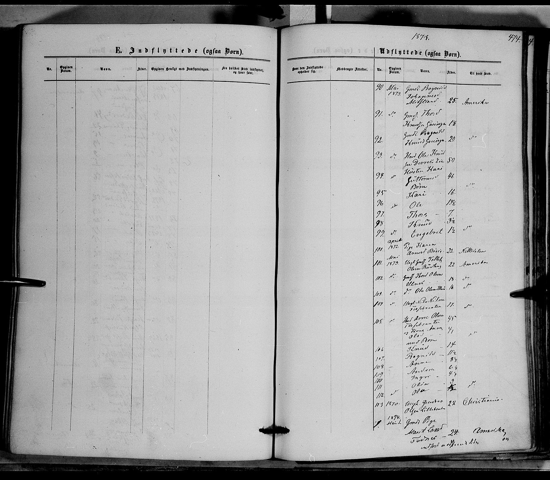 SAH, Nord-Aurdal prestekontor, Ministerialbok nr. 8, 1863-1875, s. 474