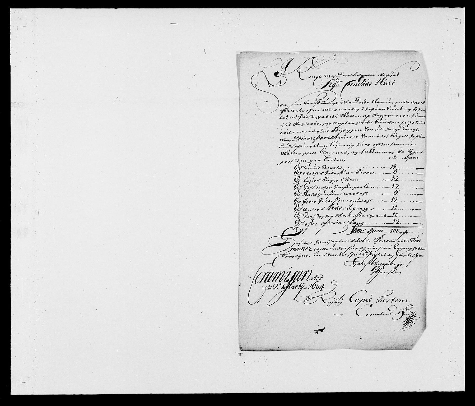 RA, Rentekammeret inntil 1814, Reviderte regnskaper, Fogderegnskap, R18/L1284: Fogderegnskap Hadeland, Toten og Valdres, 1685, s. 205