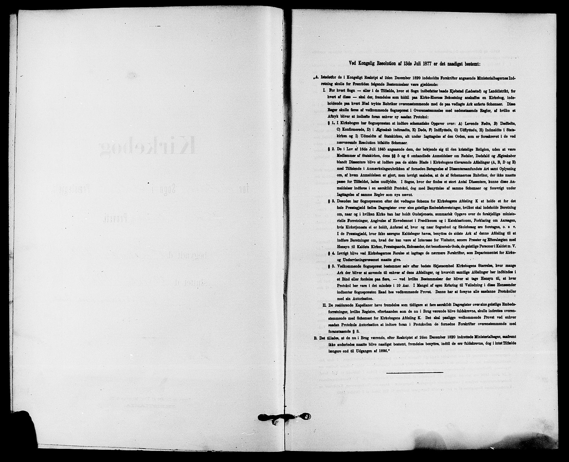 SAKO, Solum kirkebøker, G/Ga/L0008: Klokkerbok nr. I 8, 1898-1909