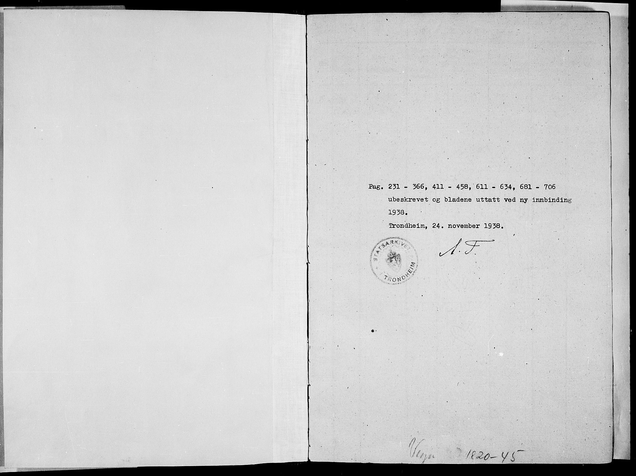 SAT, Ministerialprotokoller, klokkerbøker og fødselsregistre - Nordland, 816/L0239: Ministerialbok nr. 816A05, 1820-1845