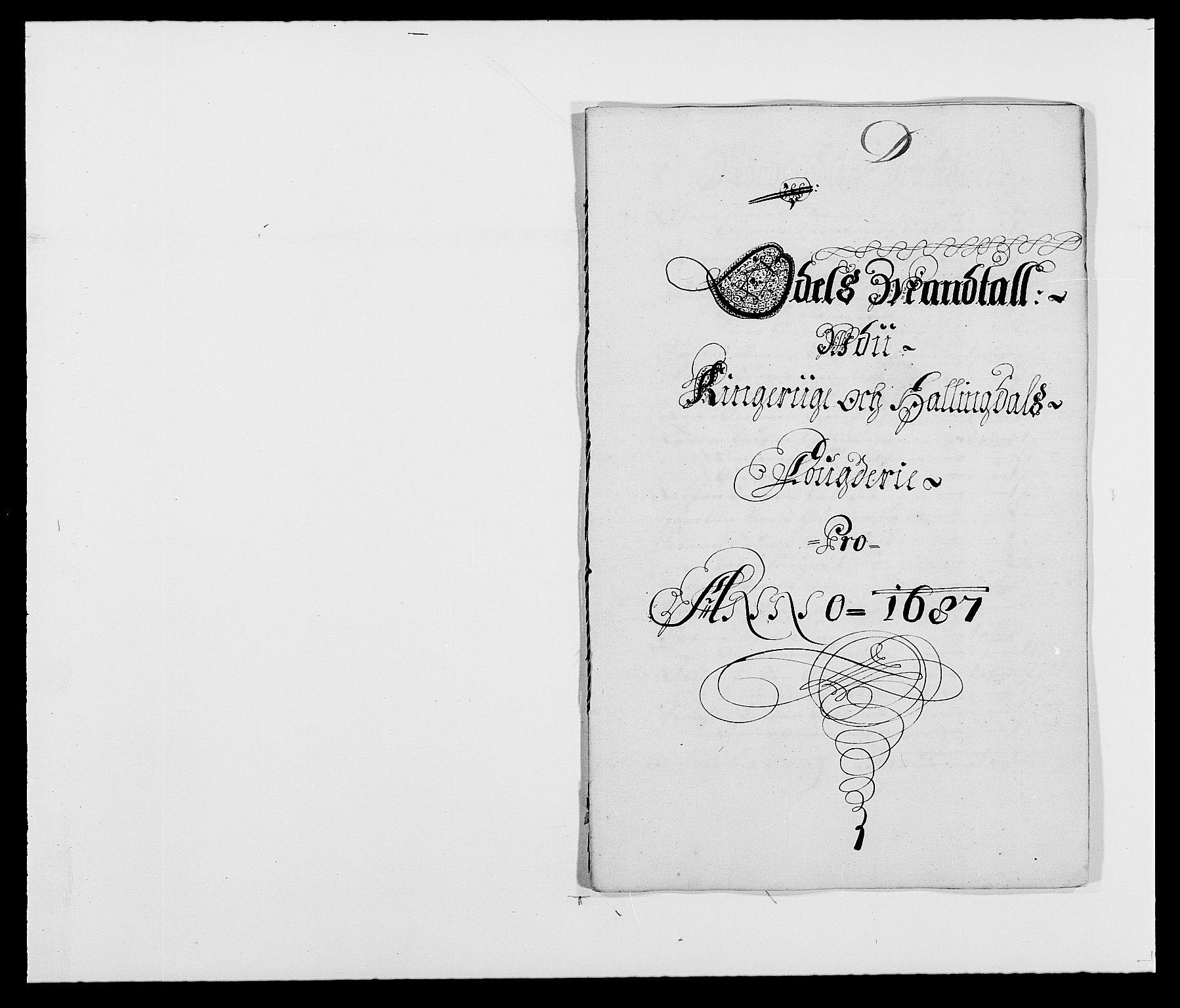 RA, Rentekammeret inntil 1814, Reviderte regnskaper, Fogderegnskap, R21/L1447: Fogderegnskap Ringerike og Hallingdal, 1687-1689, s. 45