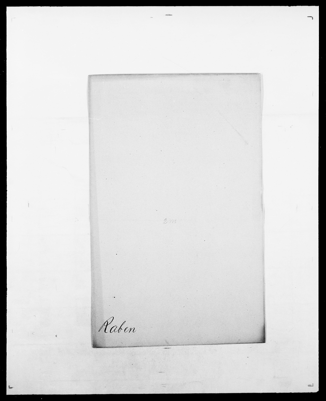 SAO, Delgobe, Charles Antoine - samling, D/Da/L0032: Rabakovsky - Rivertz, s. 10
