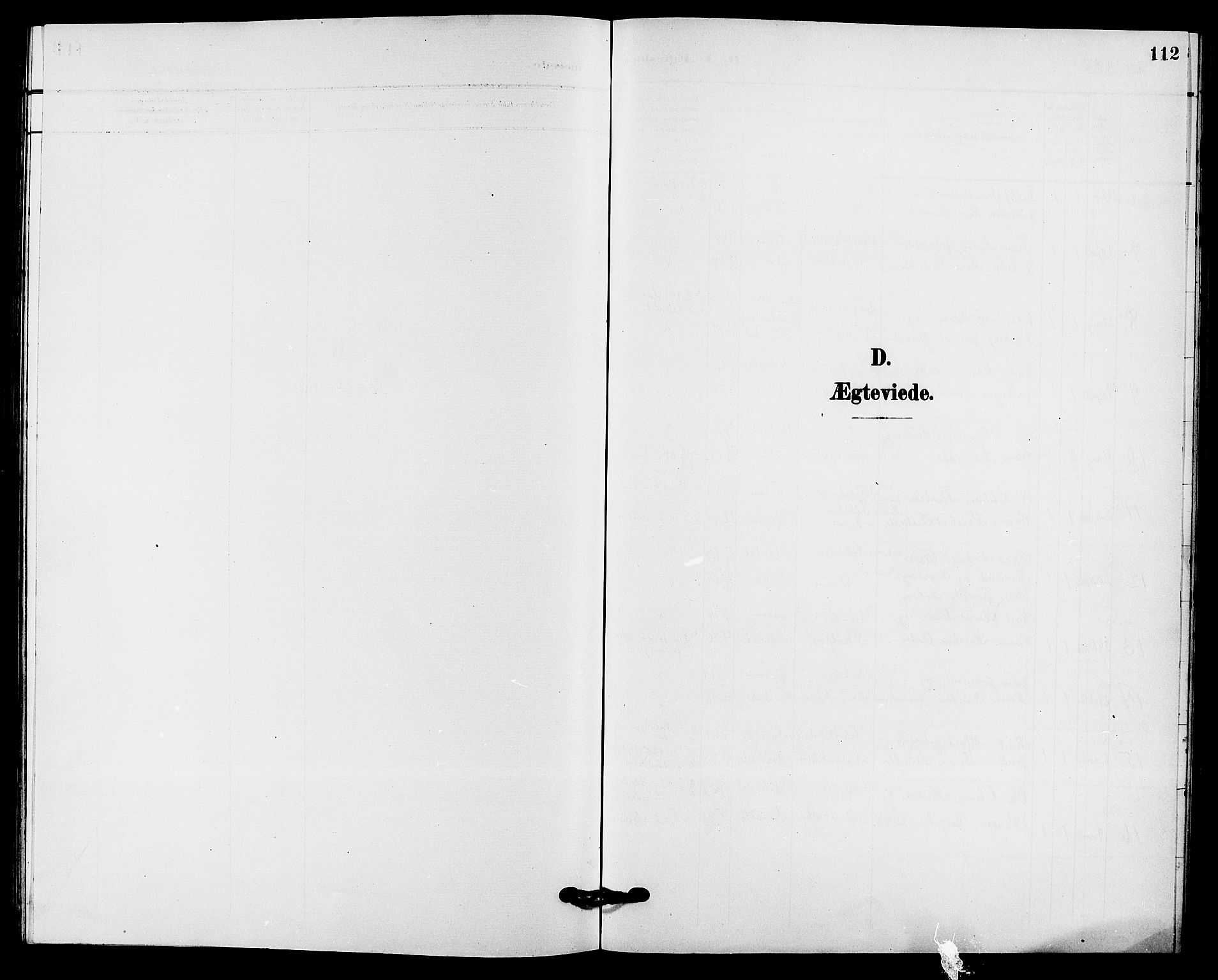 SAKO, Solum kirkebøker, G/Gb/L0004: Klokkerbok nr. II 4, 1898-1905, s. 112