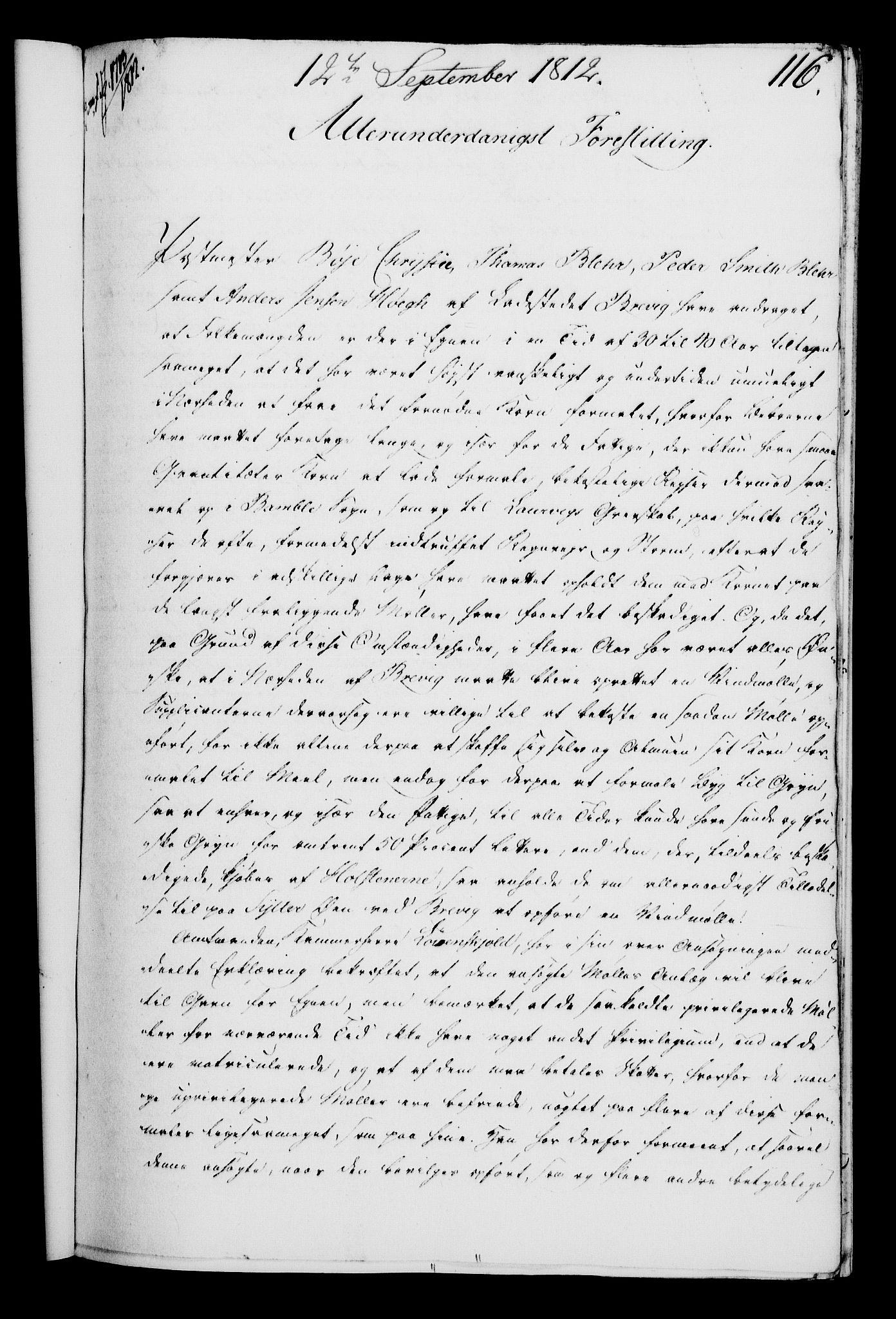 RA, Rentekammeret, Kammerkanselliet, G/Gf/Gfa/L0094: Norsk relasjons- og resolusjonsprotokoll (merket RK 52.94), 1812, s. 460
