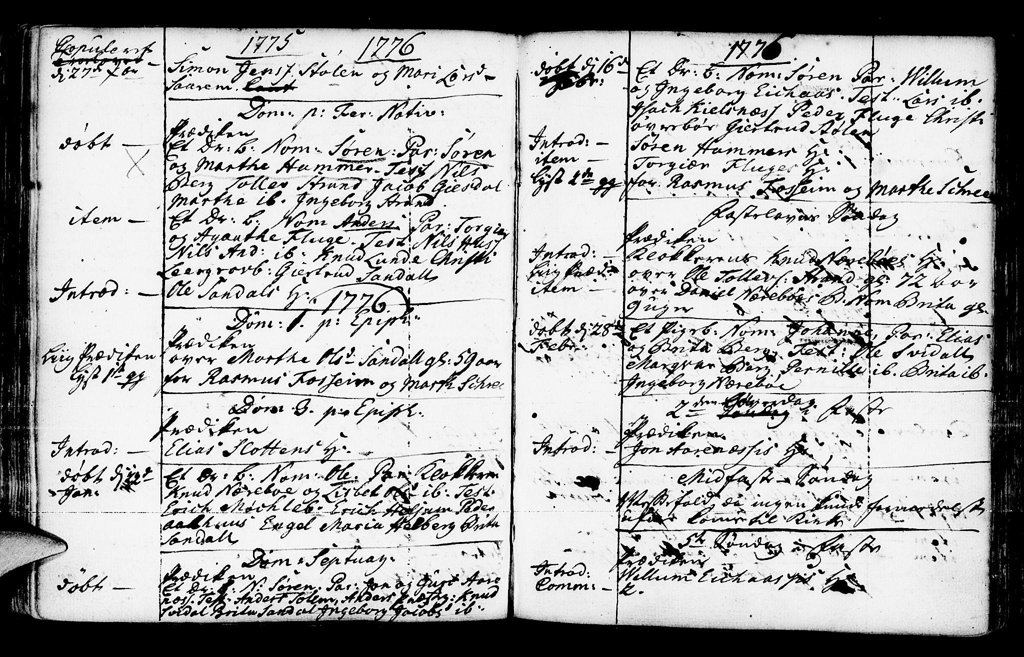 SAB, Jølster Sokneprestembete, Ministerialbok nr. A 3, 1748-1789, s. 150