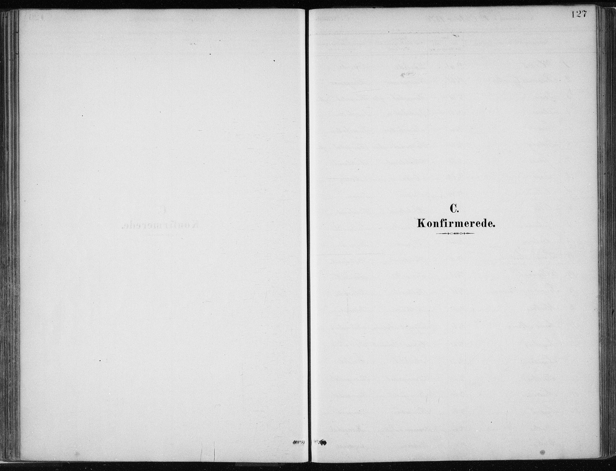 SAB, Masfjorden Soknepresembete, Ministerialbok nr. B  1, 1876-1899, s. 127