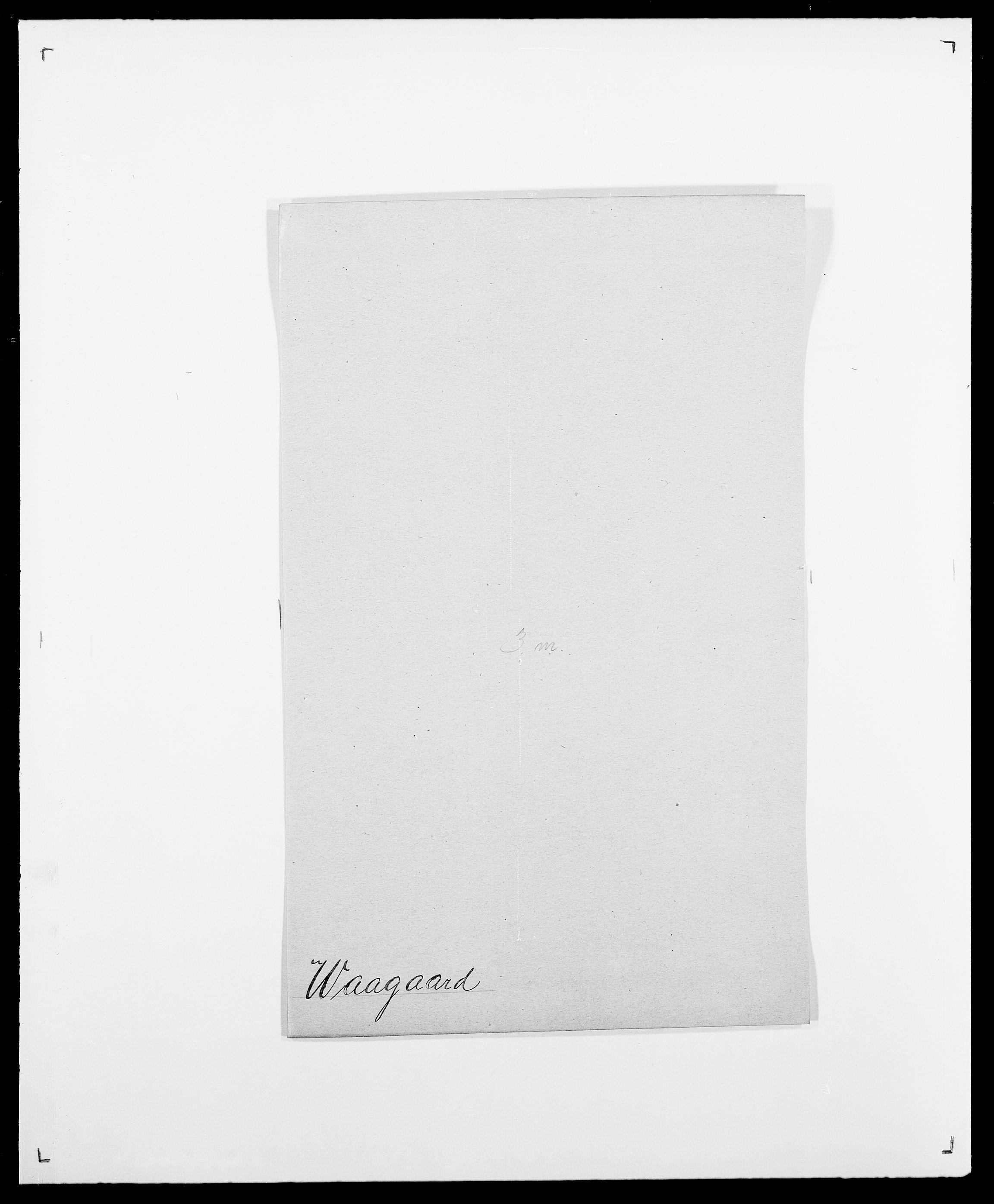 SAO, Delgobe, Charles Antoine - samling, D/Da/L0040: Usgaard - Velund, s. 41
