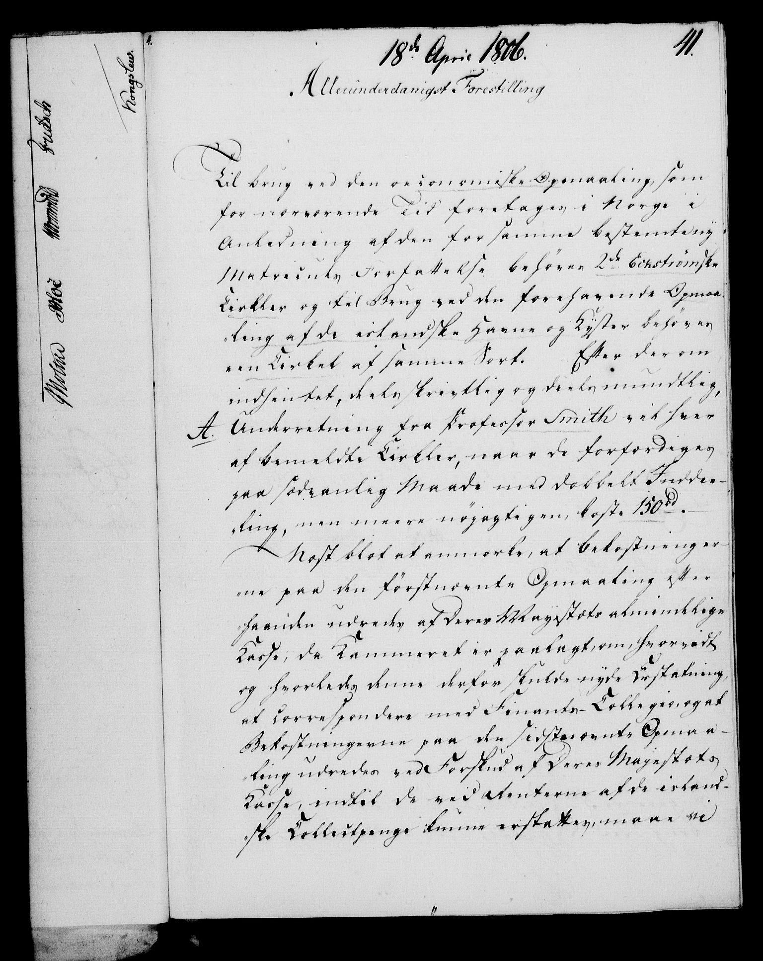 RA, Rentekammeret, Kammerkanselliet, G/Gf/Gfa/L0088: Norsk relasjons- og resolusjonsprotokoll (merket RK 52.88), 1806, s. 265
