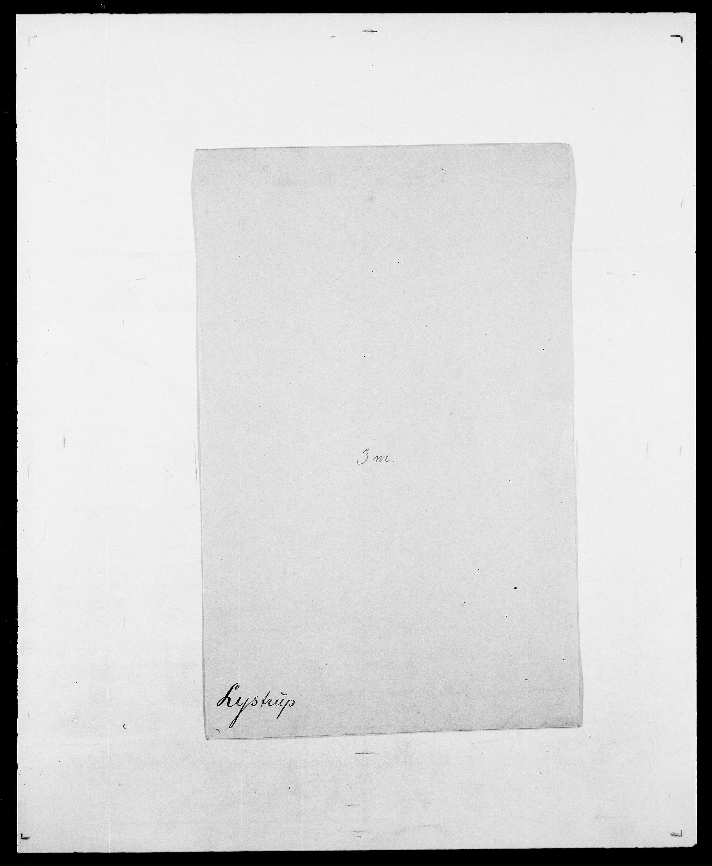 SAO, Delgobe, Charles Antoine - samling, D/Da/L0024: Lobech - Lærum, s. 785